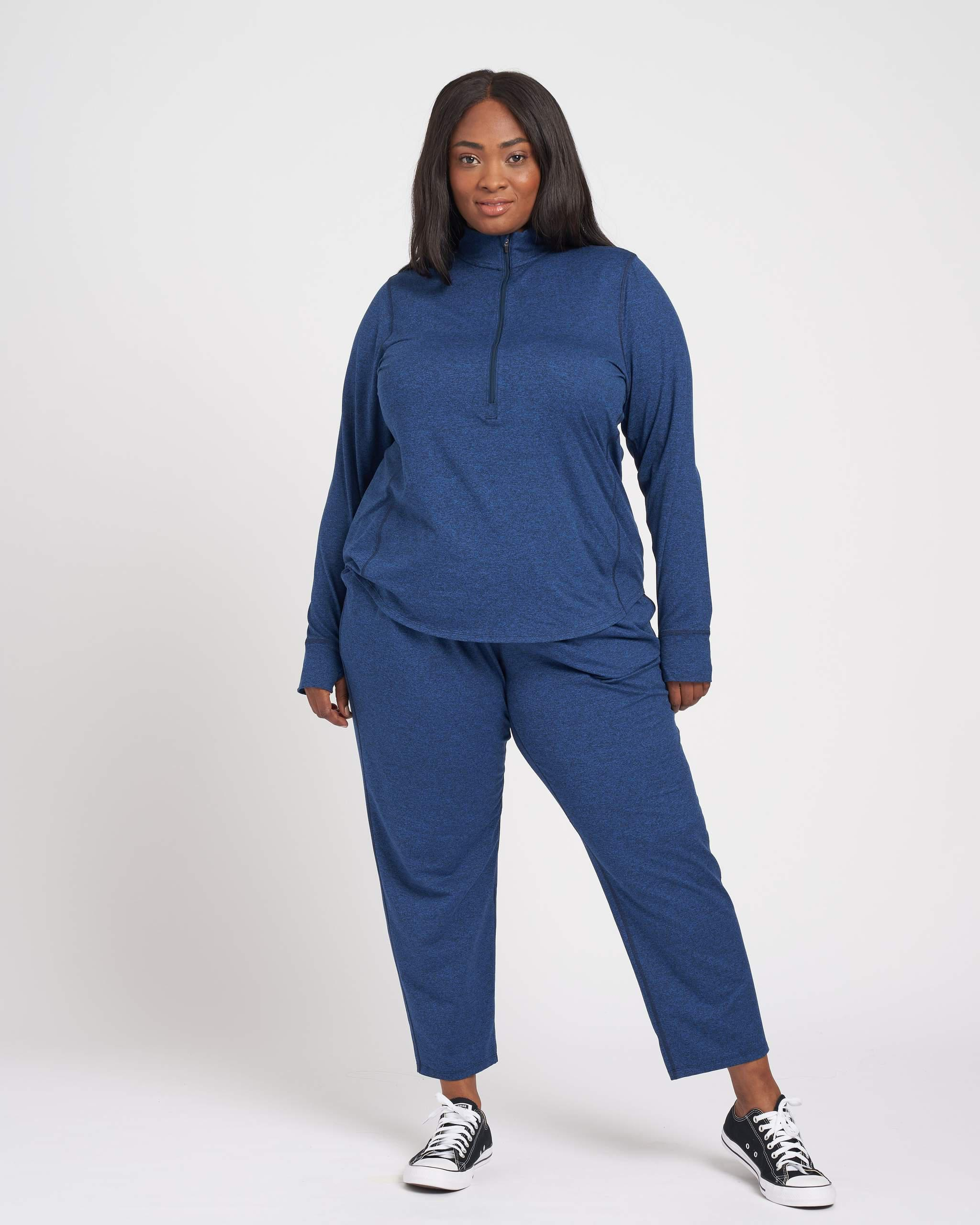 Whipped Weave Half Zip Pullover