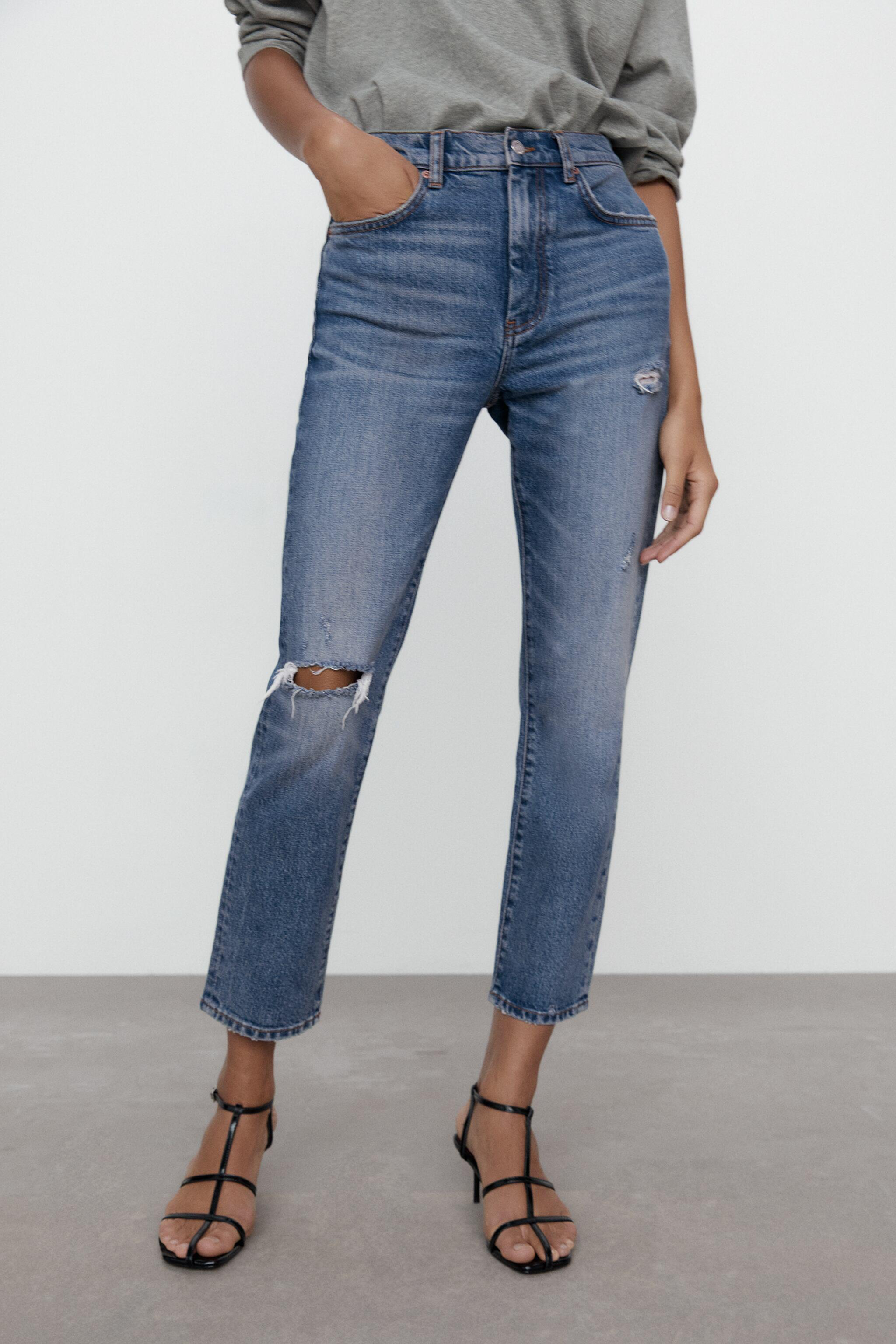 ZW THE NEW SLIM CROPPED JEANS 2