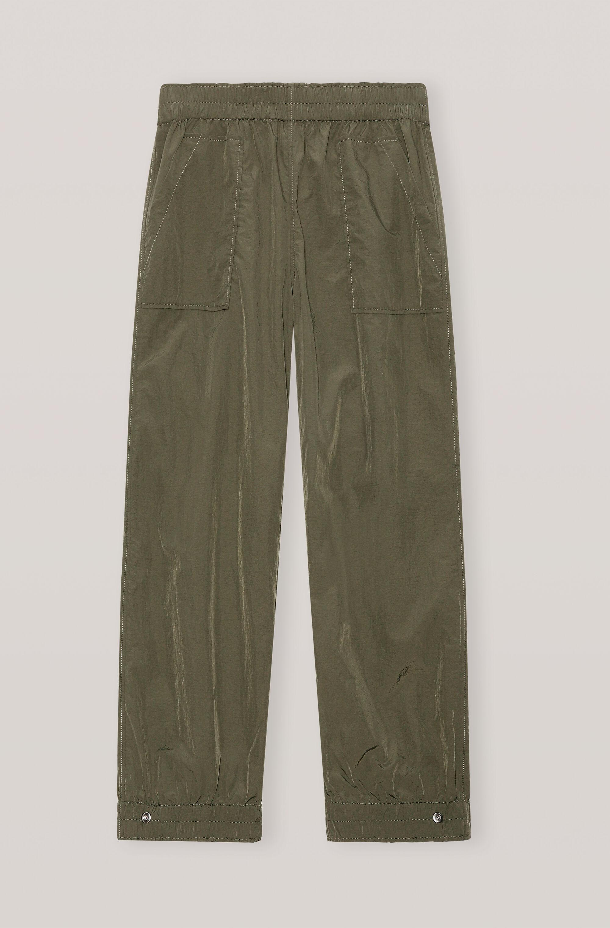 Crinkled Tech Cuff Pants 2