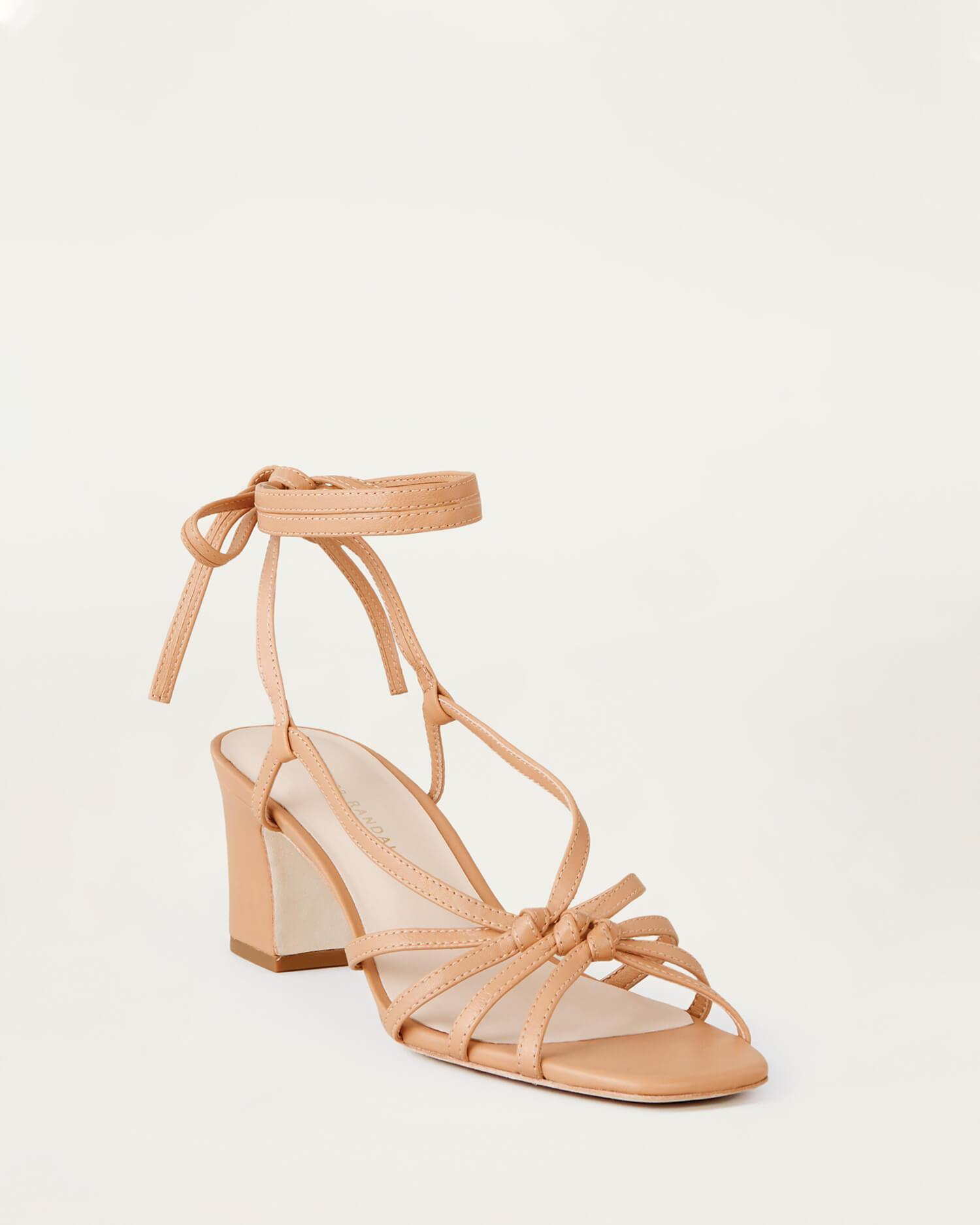 Libby Knotted Wrap Sandal Dune