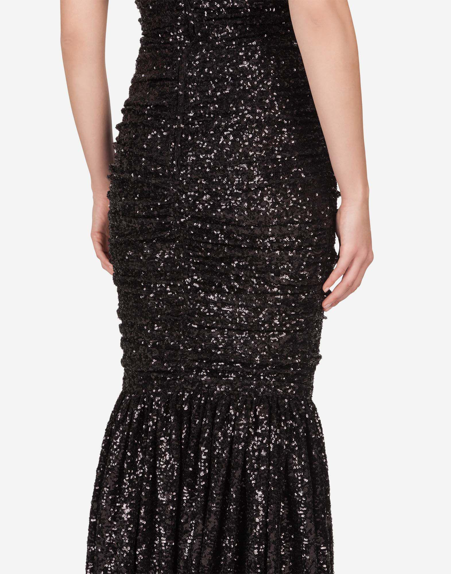 Long sequined dress 2