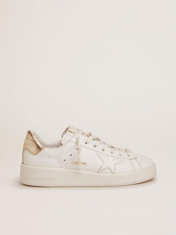 Women's PURESTAR sneakers with gold-coloured heel tab