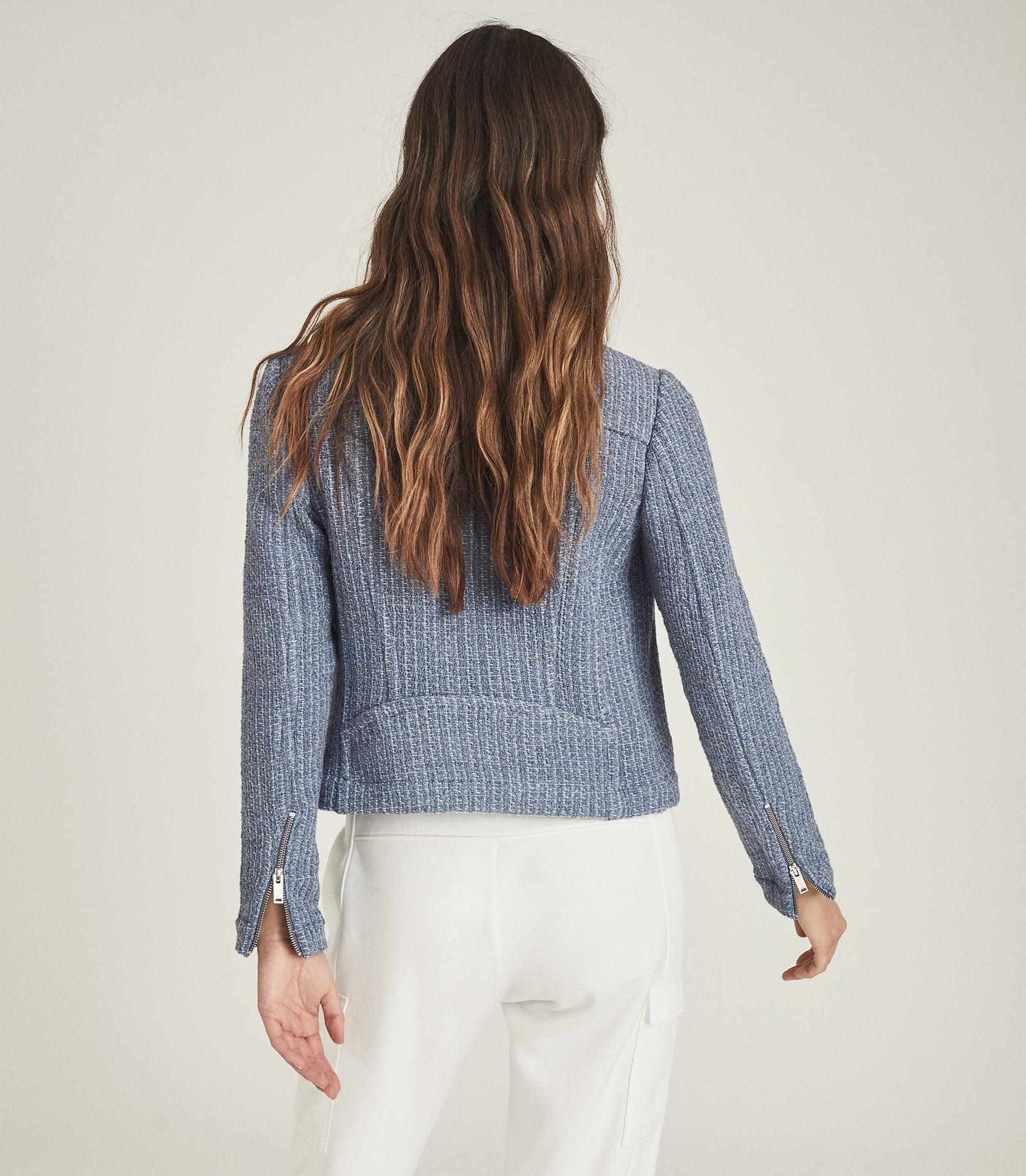ESSIE - CROPPED BOUCLE JACKET 2