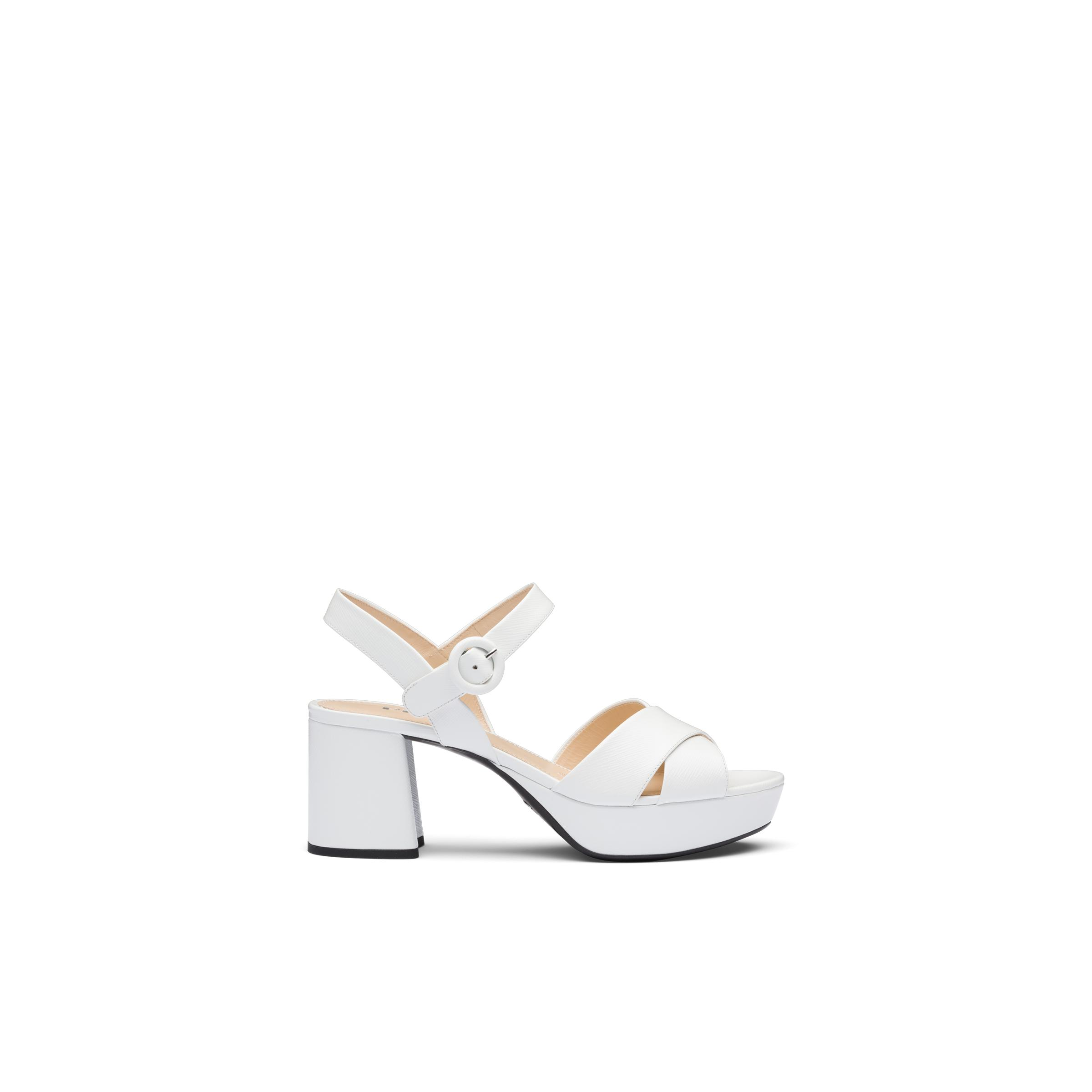 Patent Leather Sandals Women White 2
