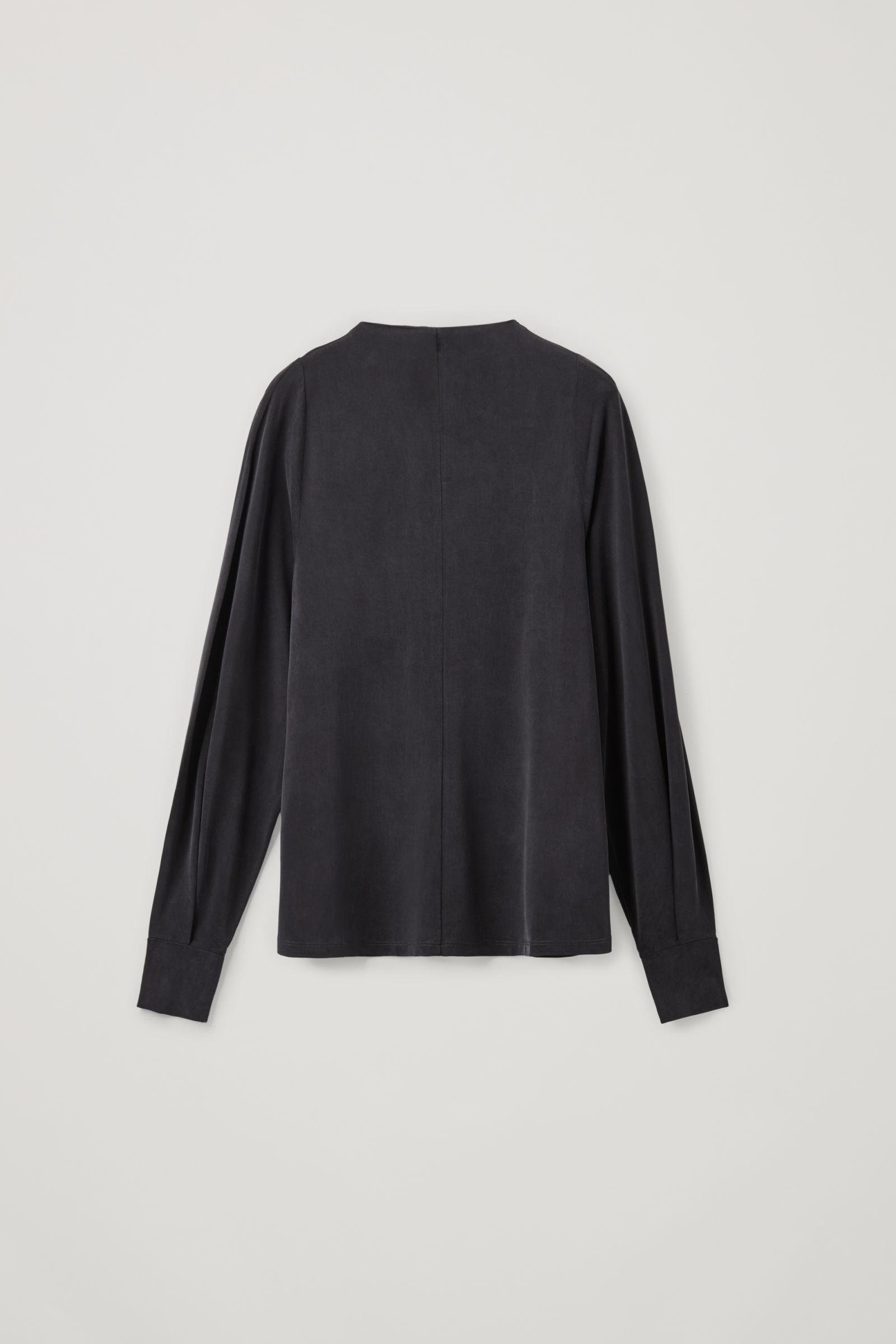CUPRO LONG-SLEEVED TOP 4