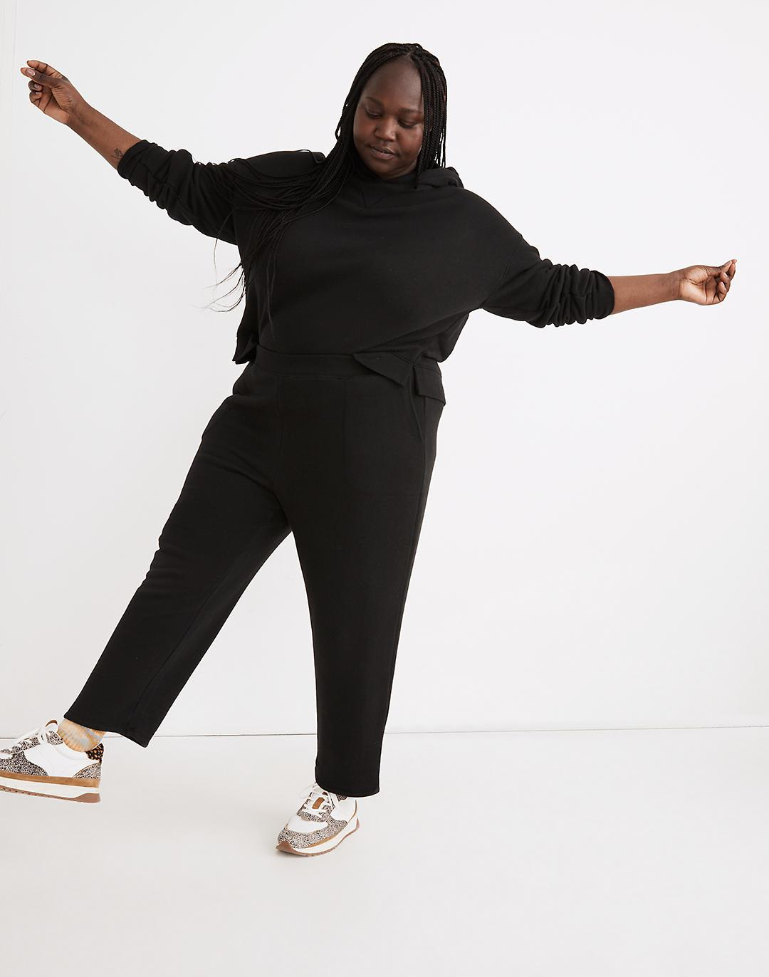 Plus MWL Airyterry Stitched-Pocket Tapered Sweatpants
