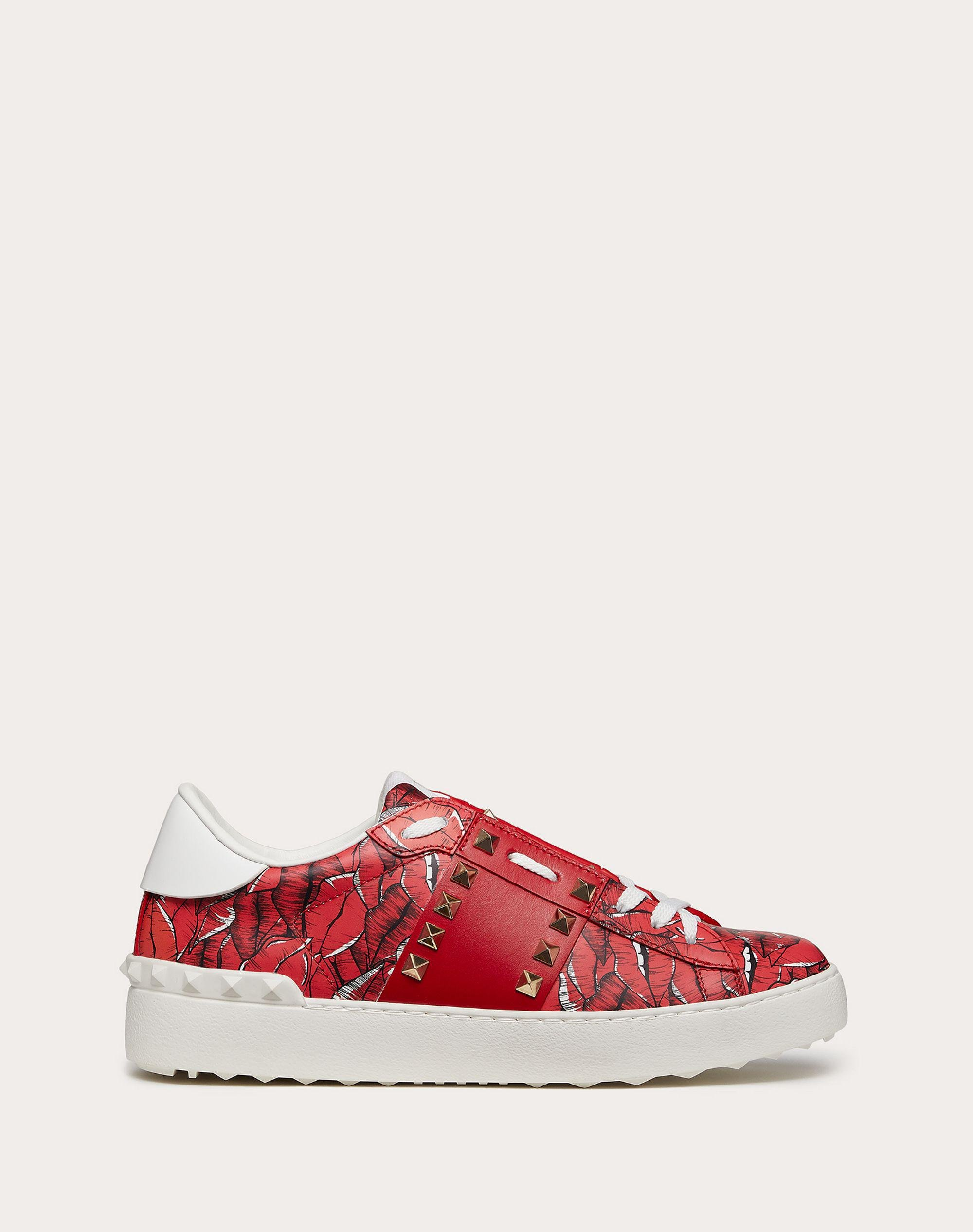 Rockstud Untitled Sneaker with print 0
