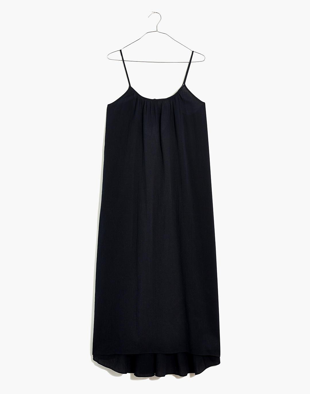Tie-Back Cover-Up Maxi Dress