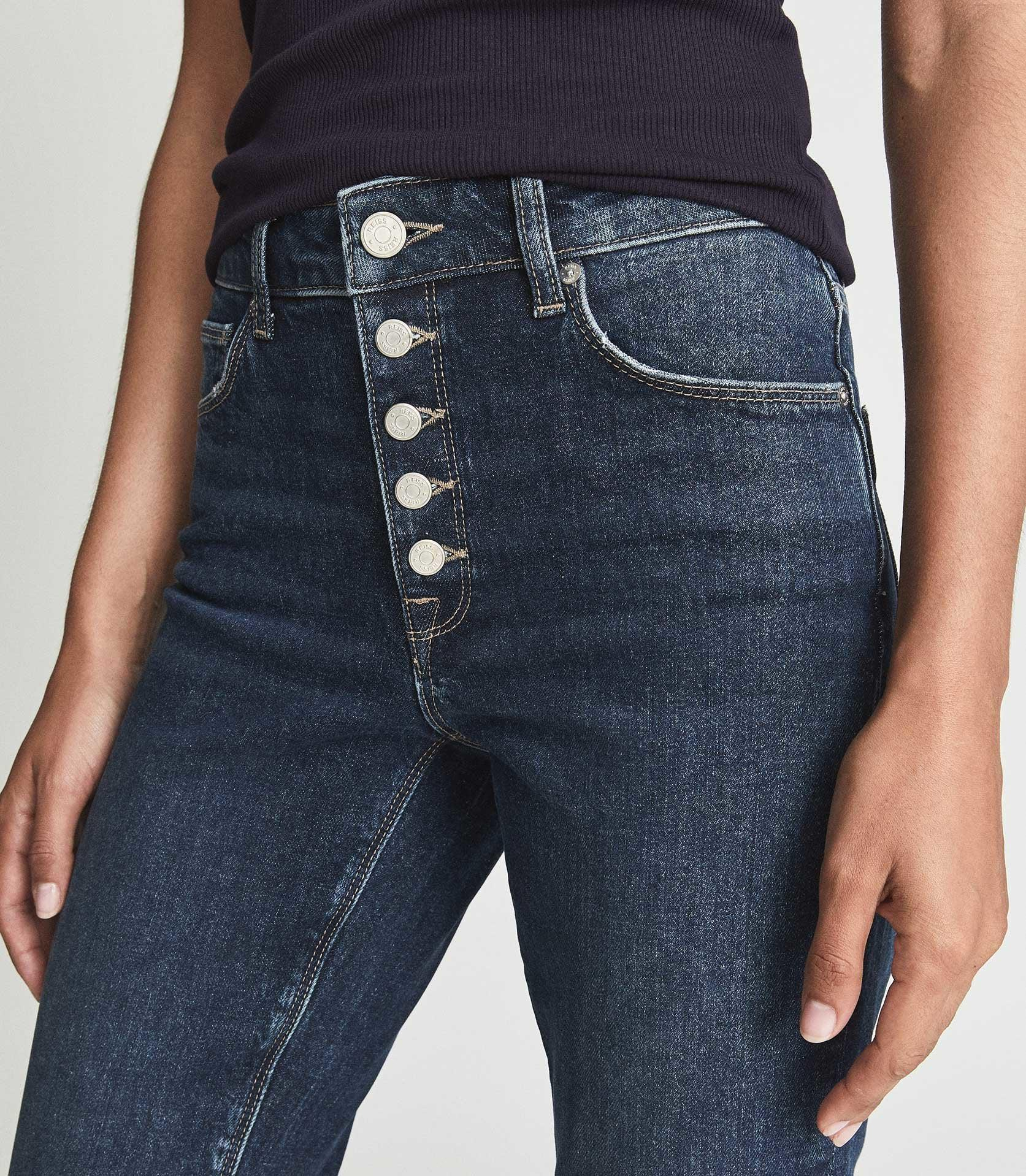 BAILEY - MID RISE SLIM CROPPED JEANS 4