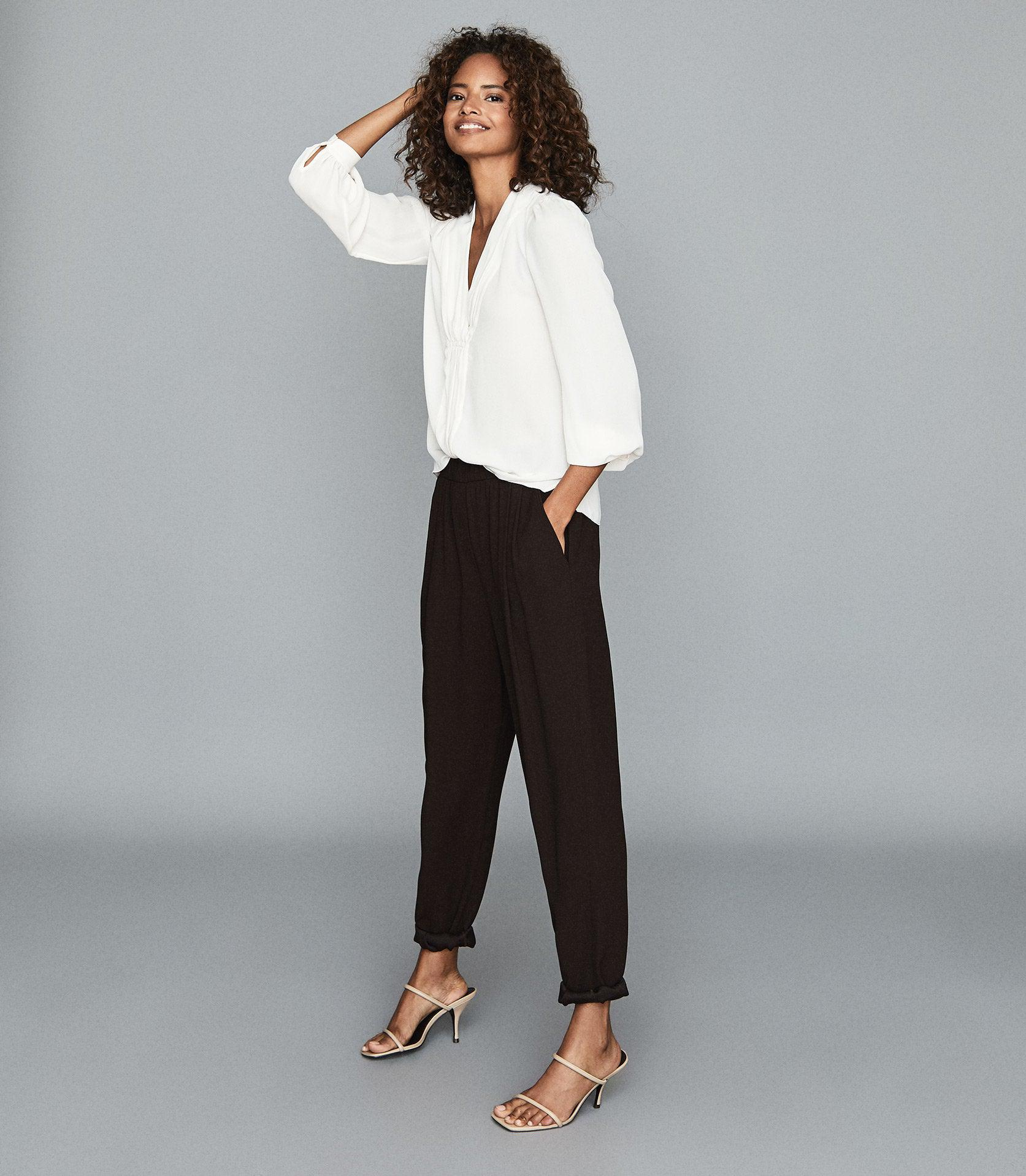 ROXY - RELAXED FIT TAPERED TROUSERS