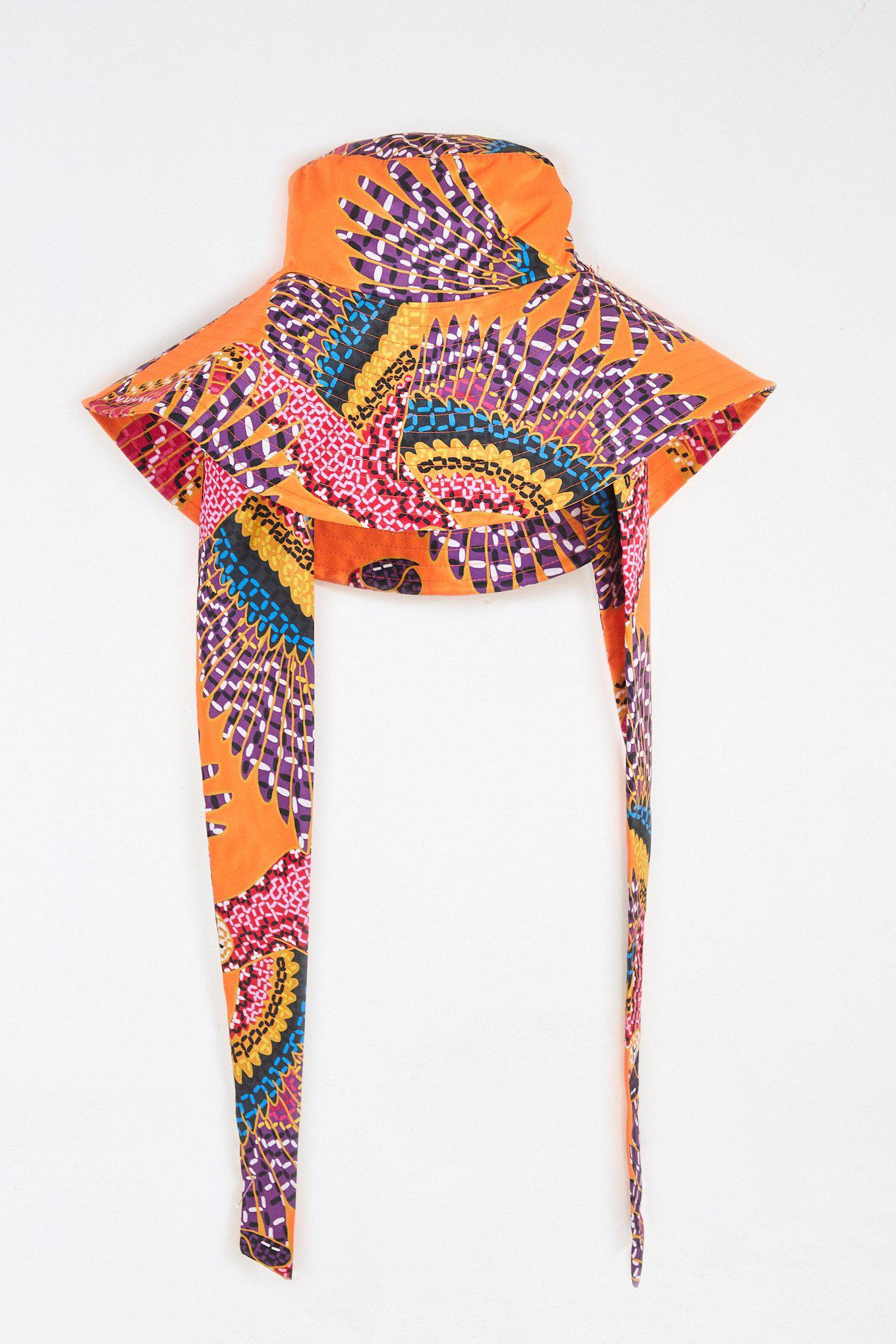 BEADED MACAWS HAT