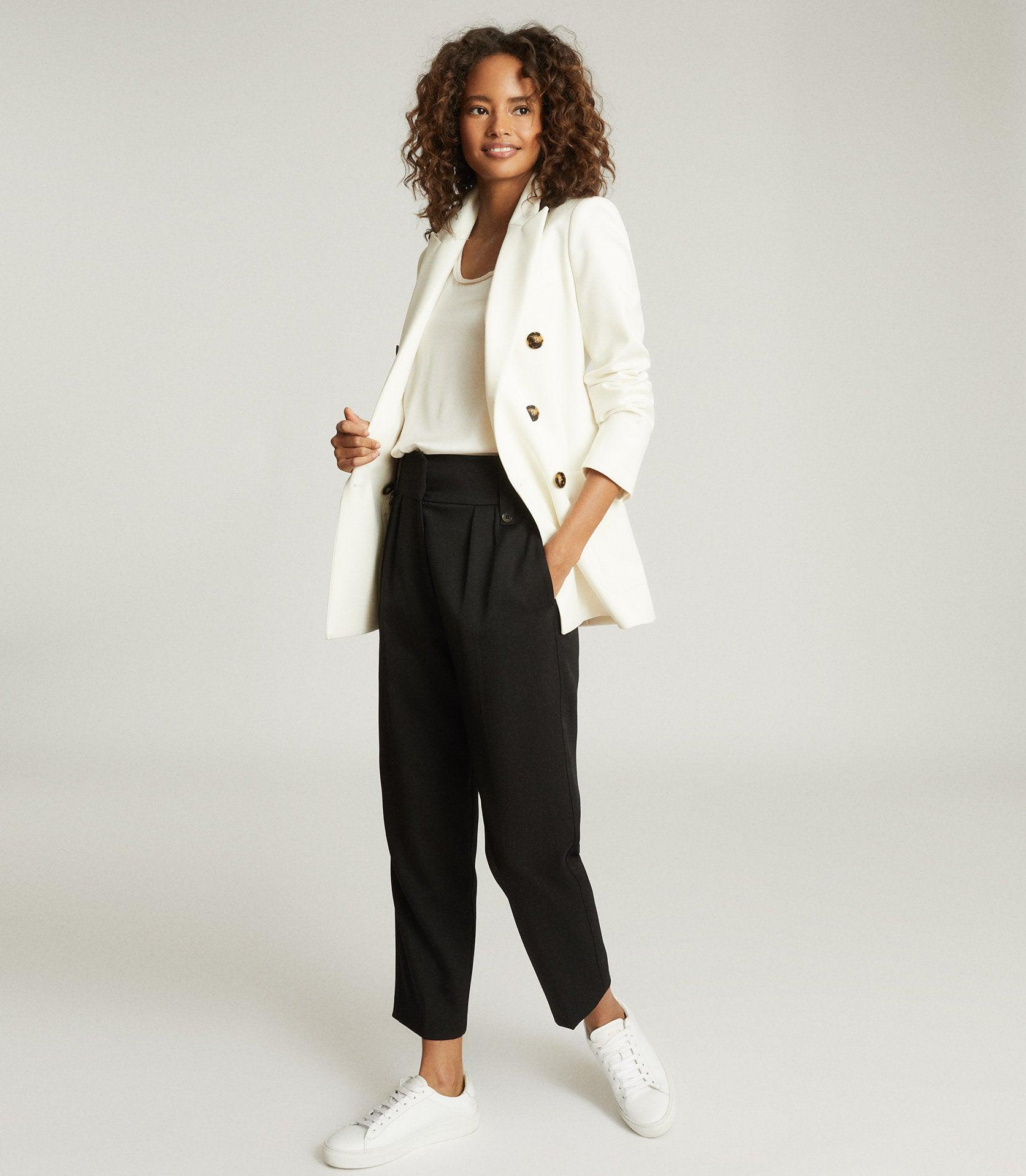 ASTRID - WOOL BLEND DOUBLE BREASTED BLAZER