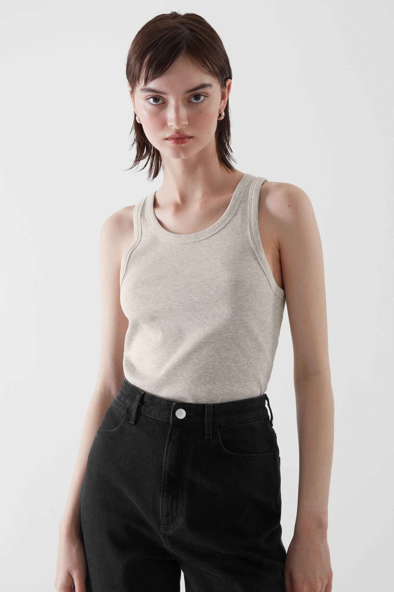FITTED VEST TOP 3