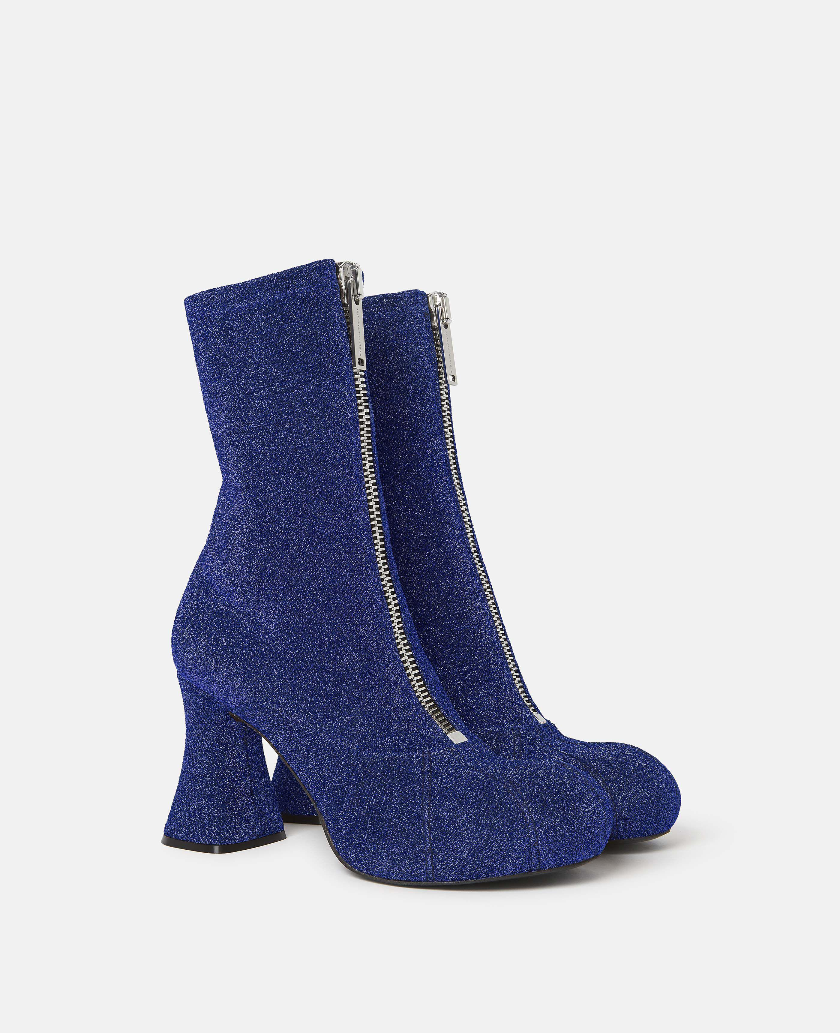 Duck City Glitter Ankle Boots