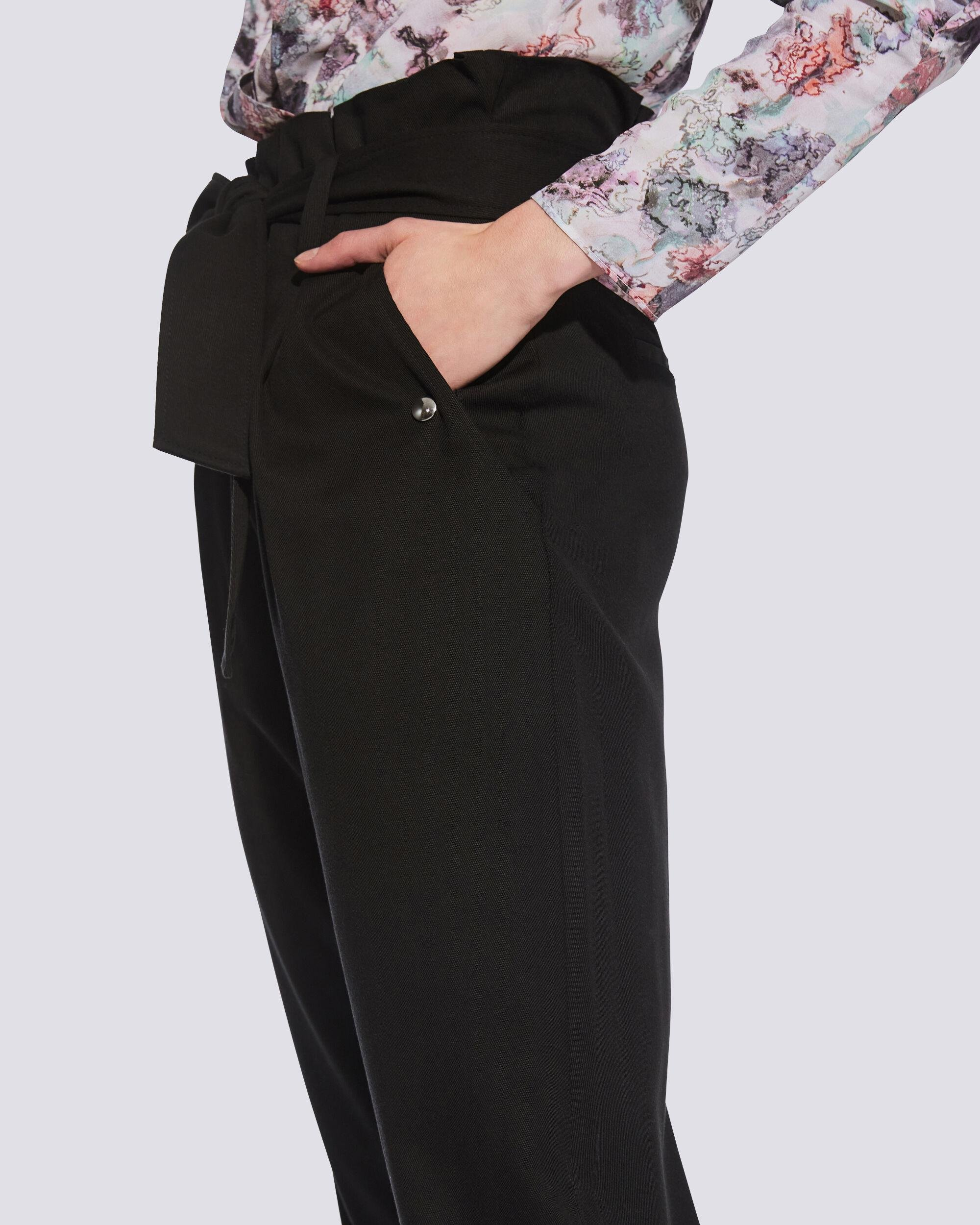BORCIE PAPERBAG WAIST TROUSERS 4
