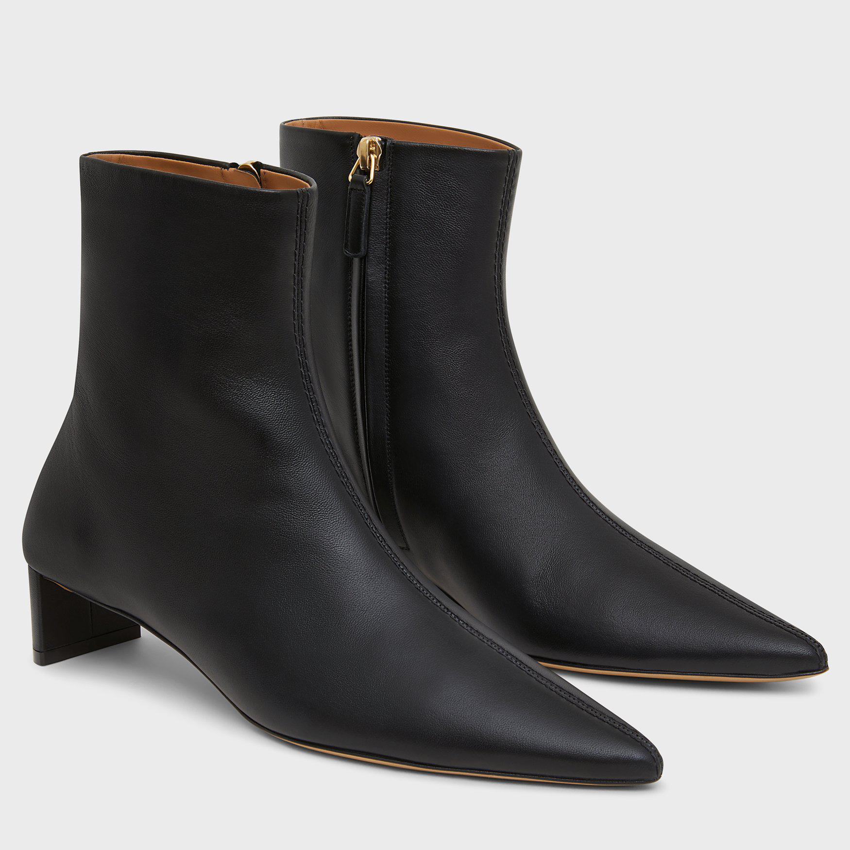 Pointy Boot - Black 1