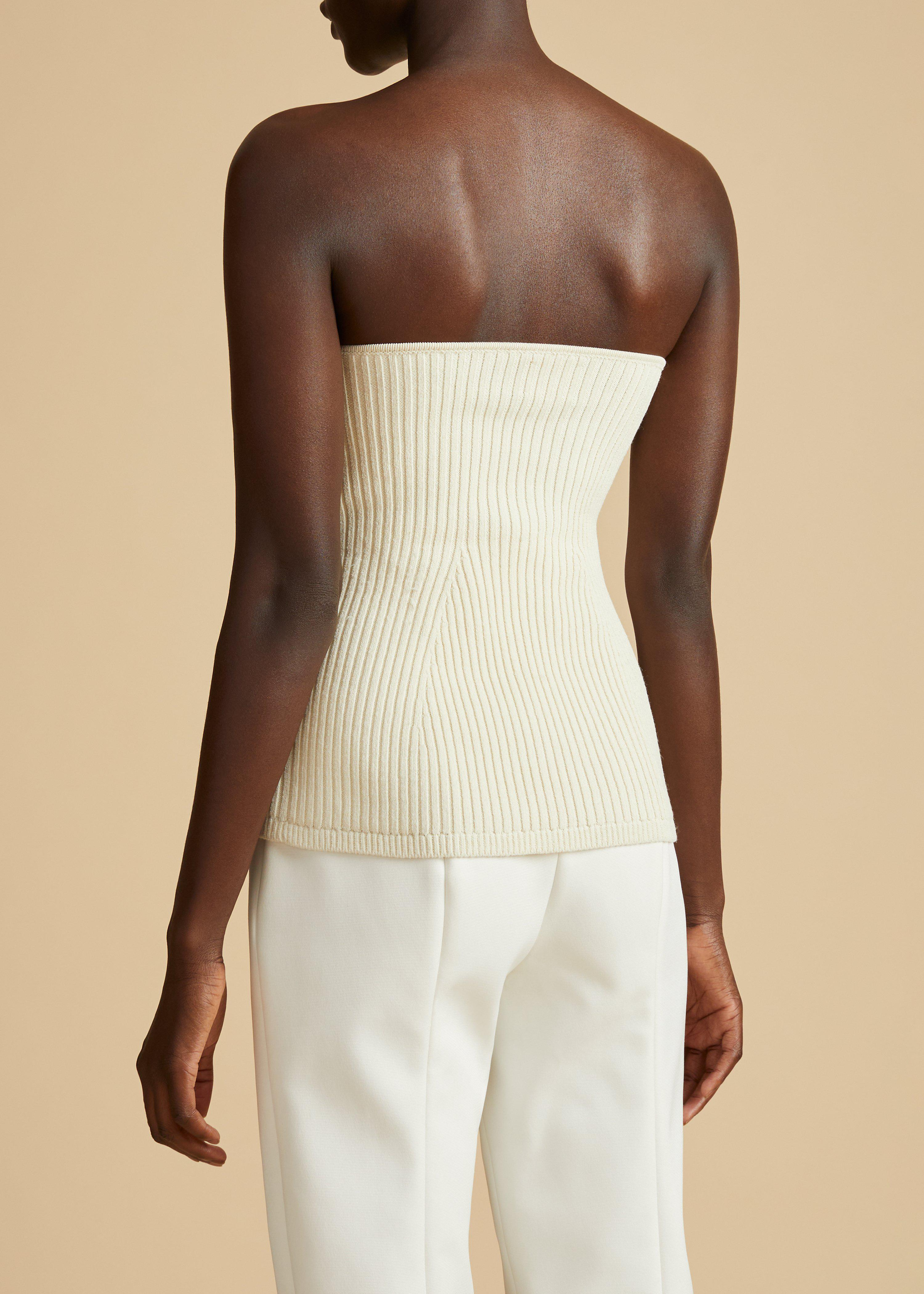 The Lucie Top in Cream 2