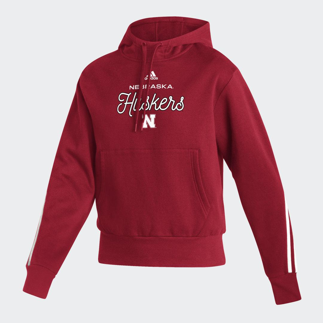 Cornhuskers Pullover Hoodie Team Power Red