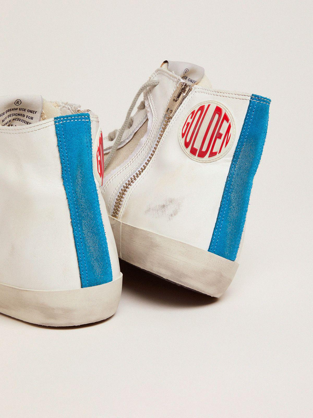 Women's Limited Edition blue and white Francy sneakers 3