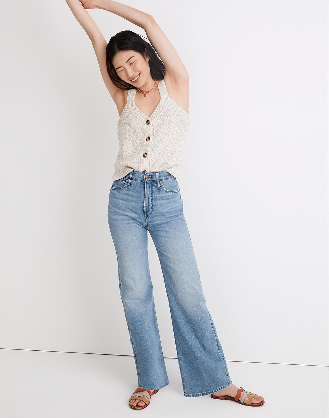 """Tall 11"""" High-Rise Flare Jeans in Conwell Wash"""