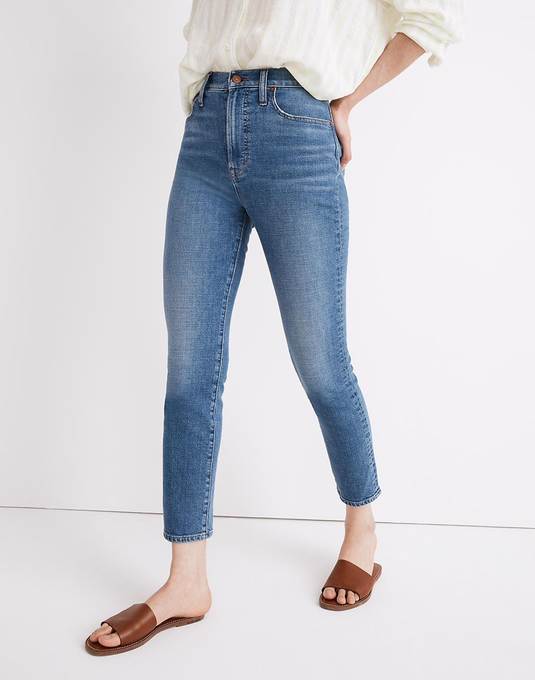 The Perfect Vintage Crop Jean in Sandford Wash: Summerweight Edition 2