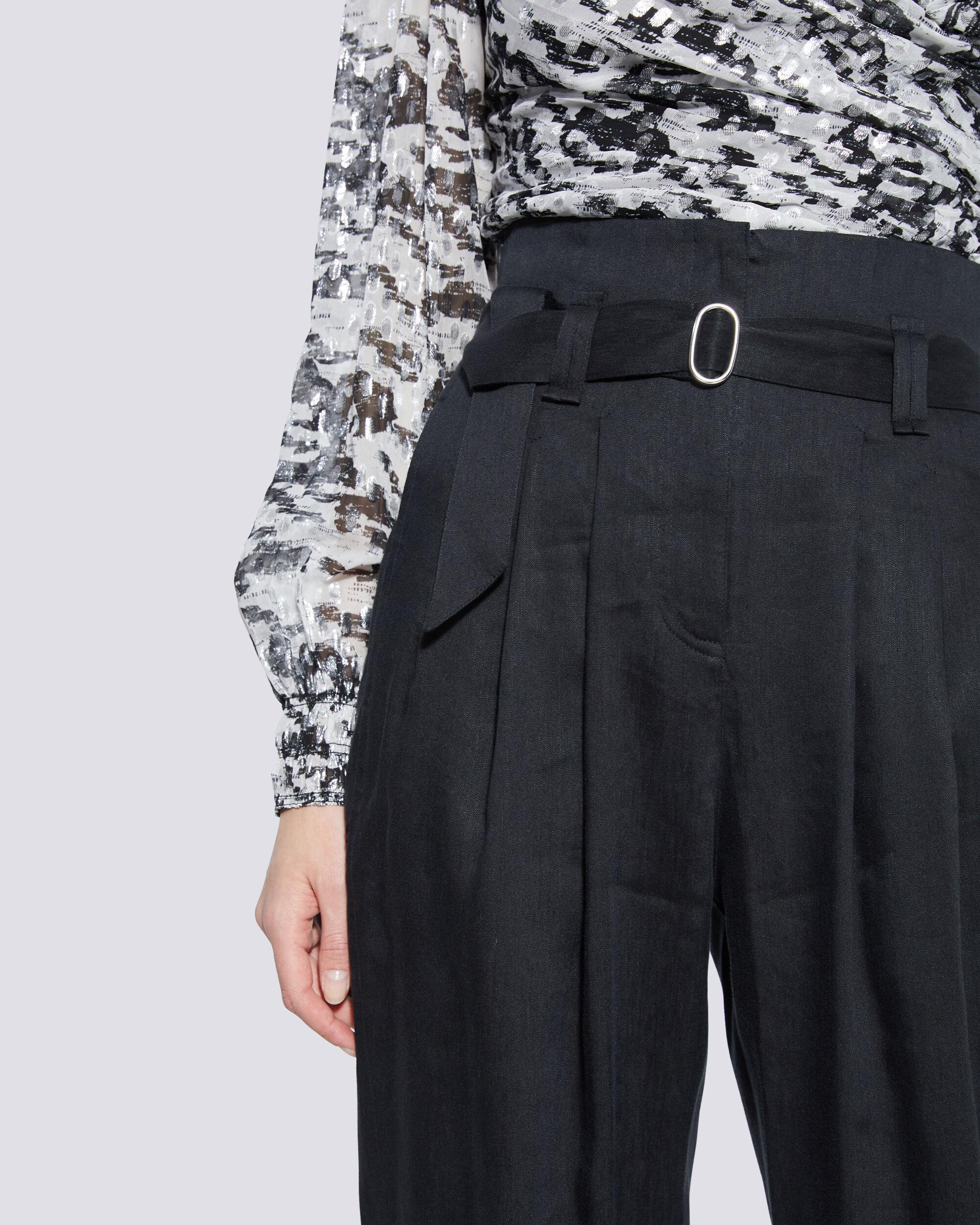 MARGATE PAPERBAG TAPERED TROUSER PANTS 3