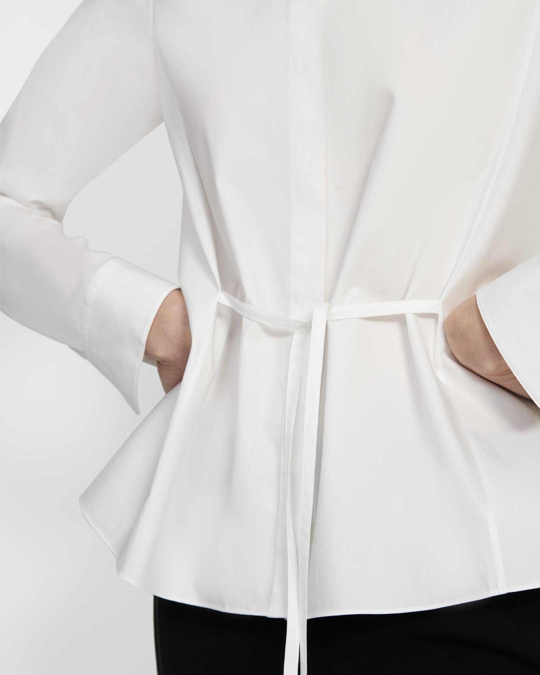 Cinched Shirt in Good Cotton 1