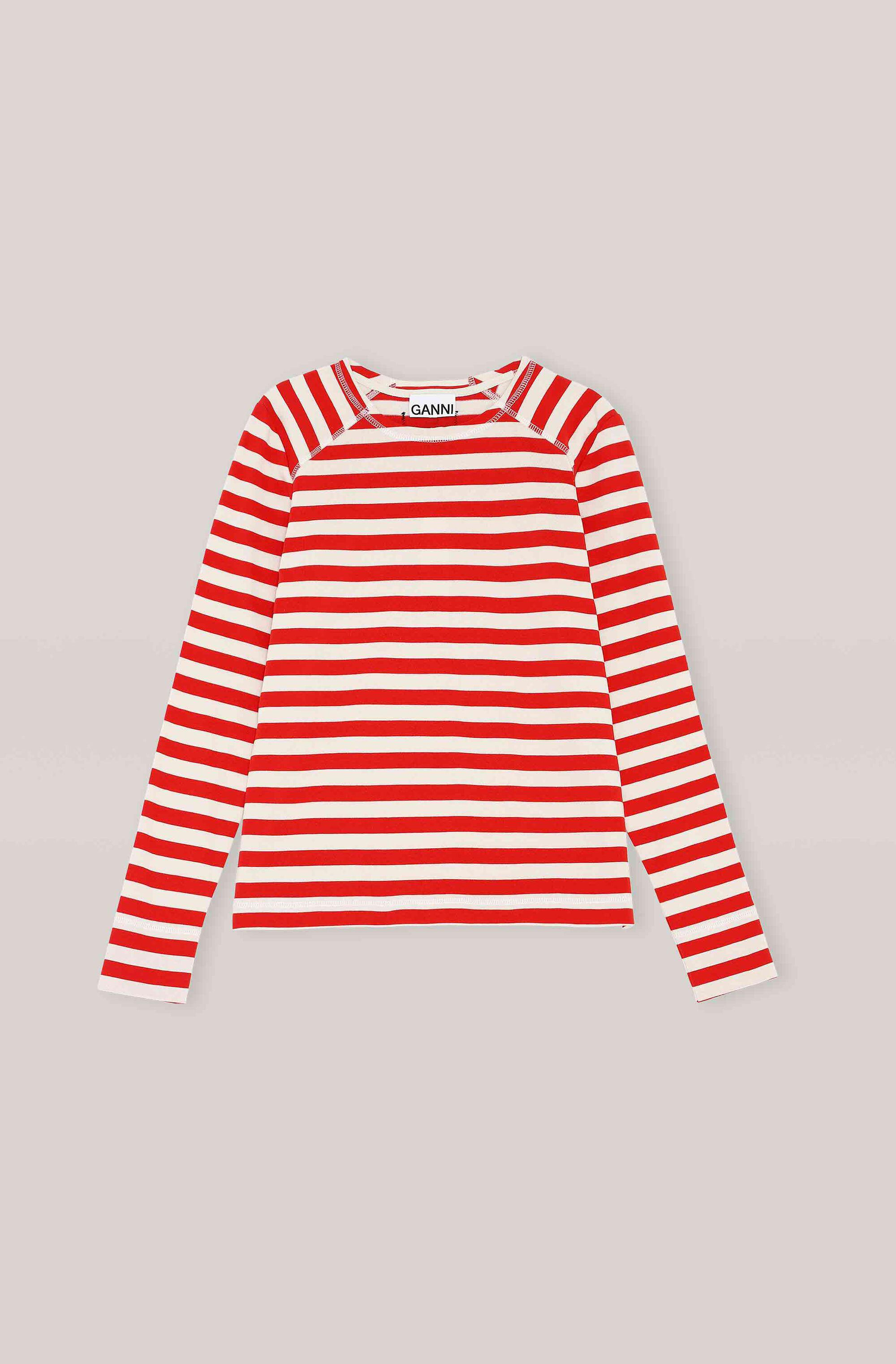 Striped Cotton Jersey Pullover 3