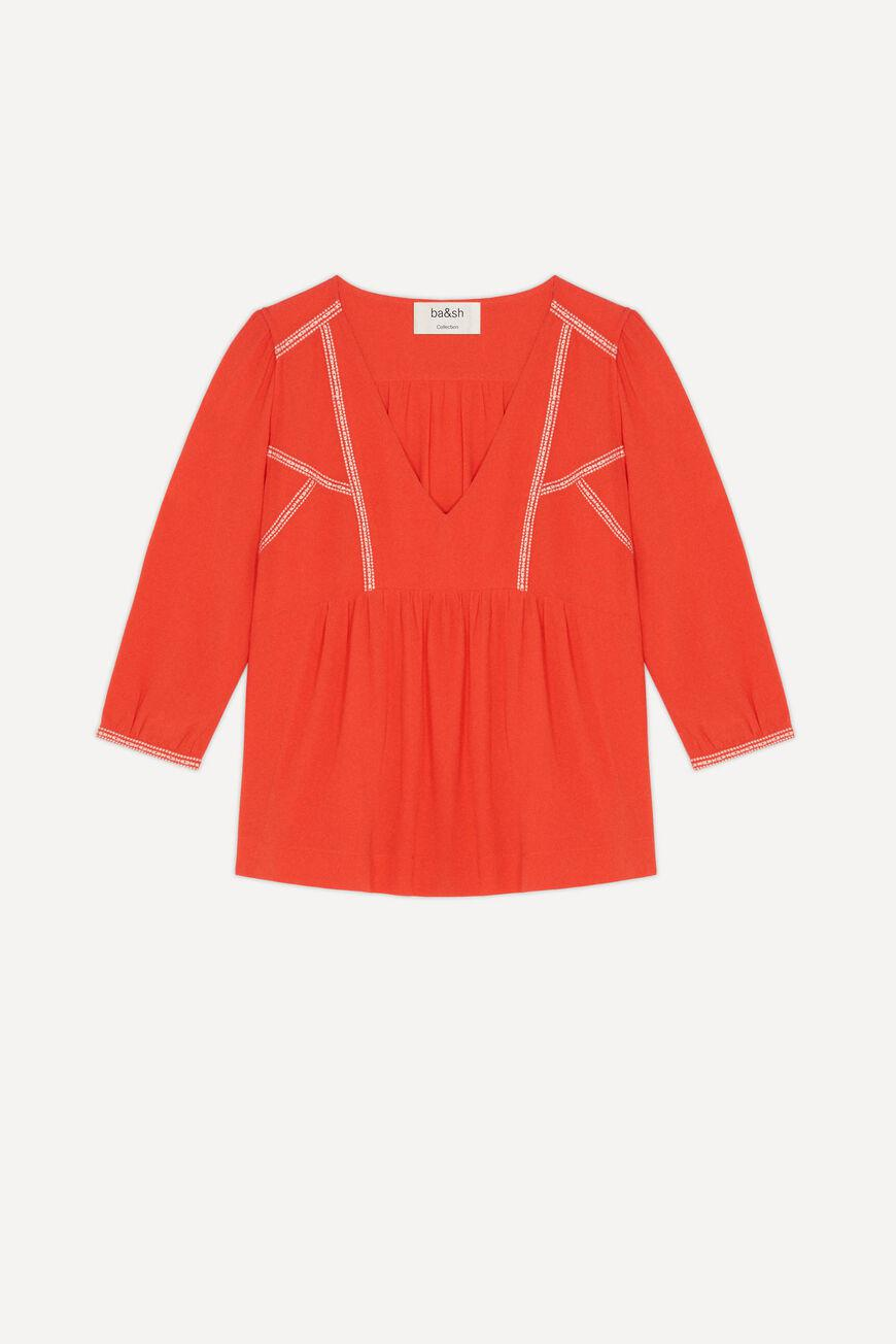 amber.EMBROIDERED BLOUSE 3