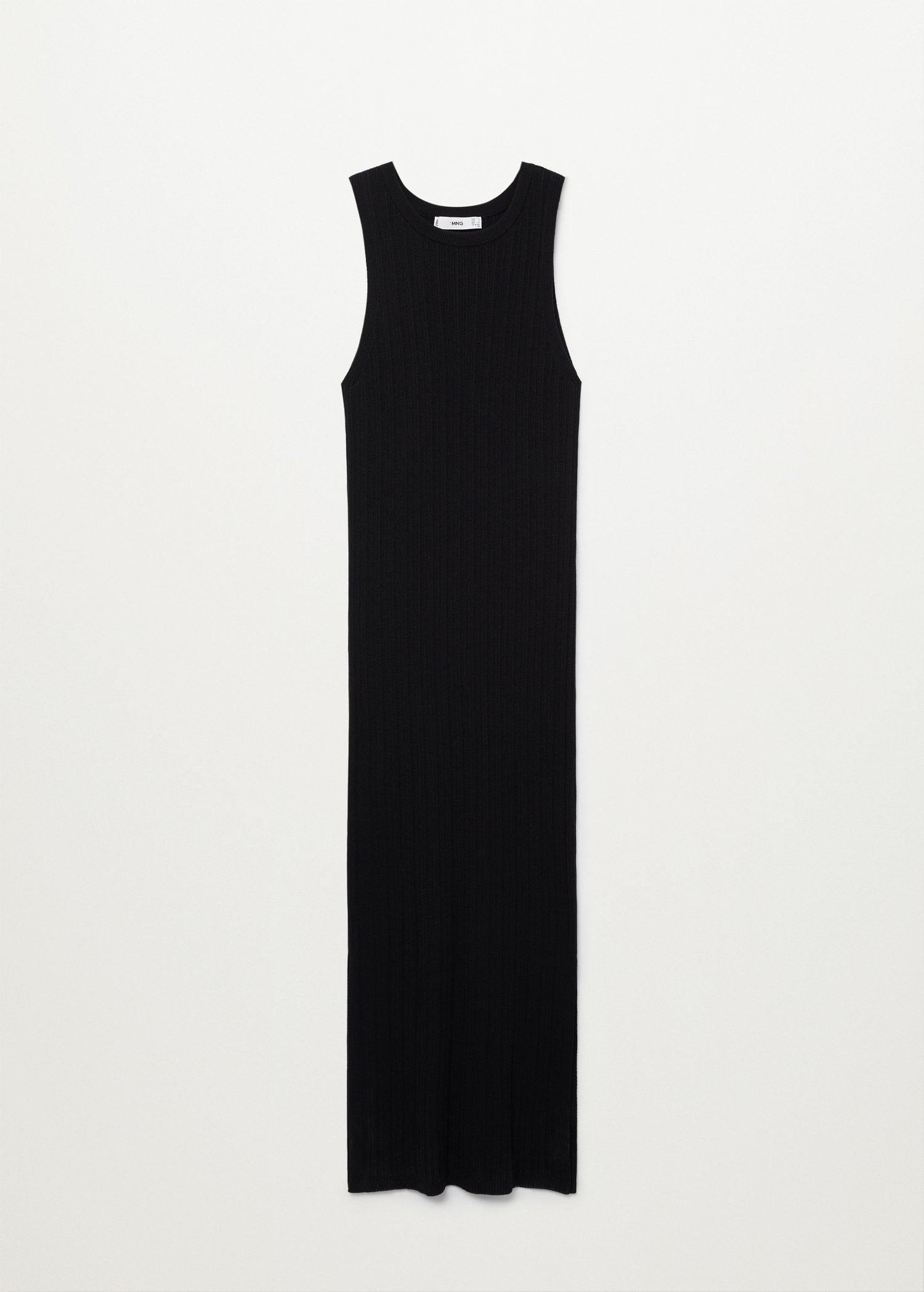 Tailored ribbed dress 5