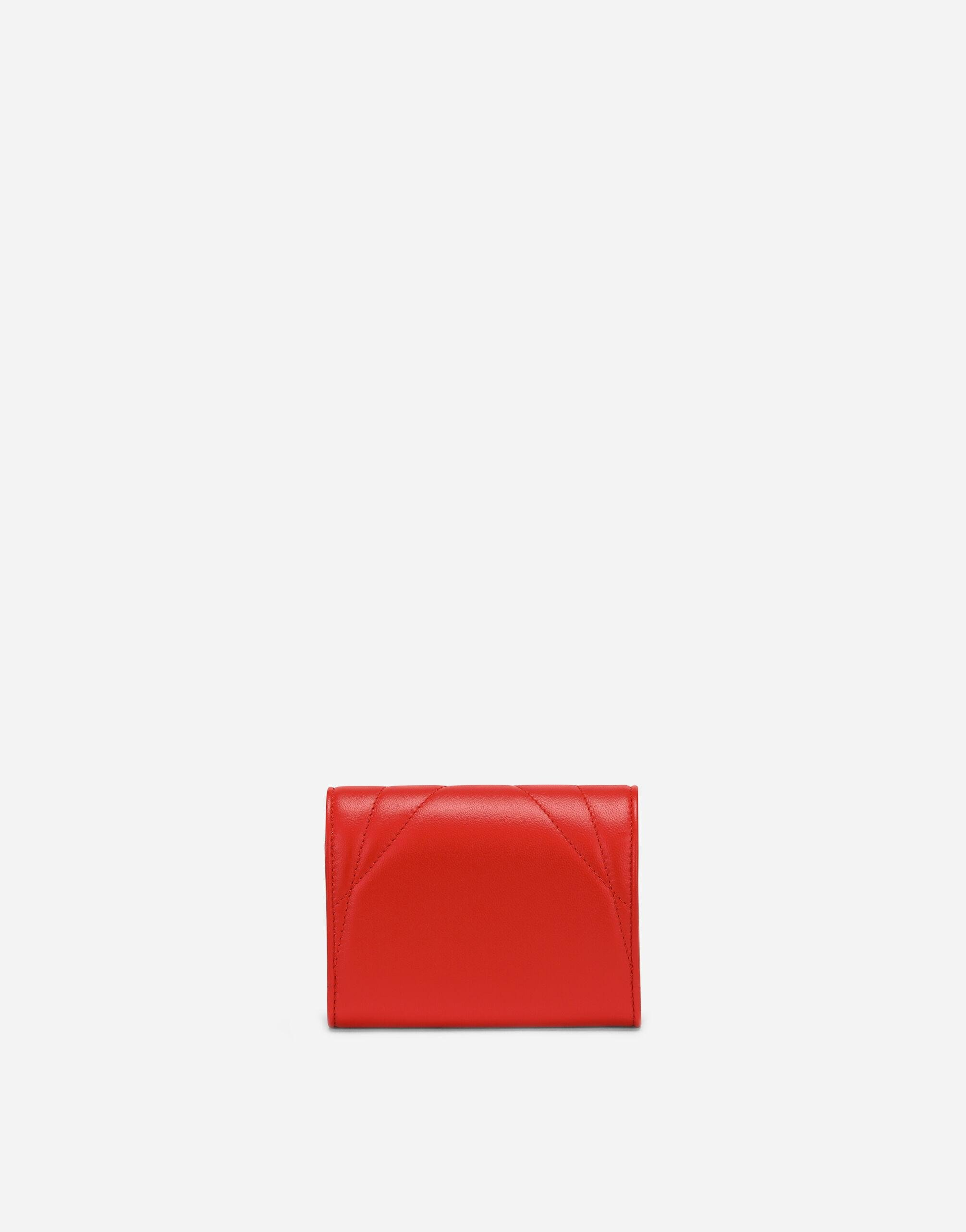 Small continental Devotion wallet in quilted nappa leather 2