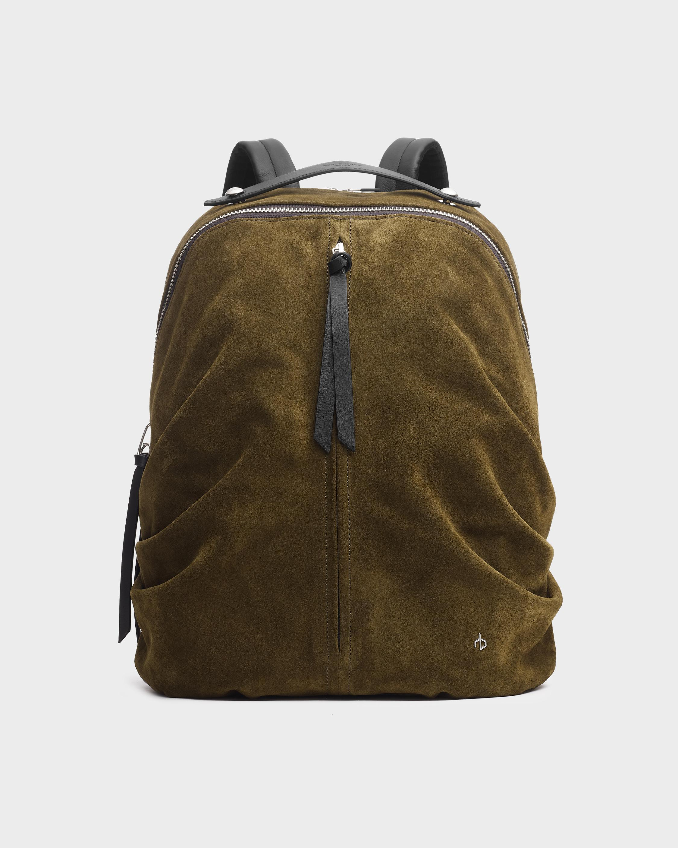 Commuter backpack - suede 0