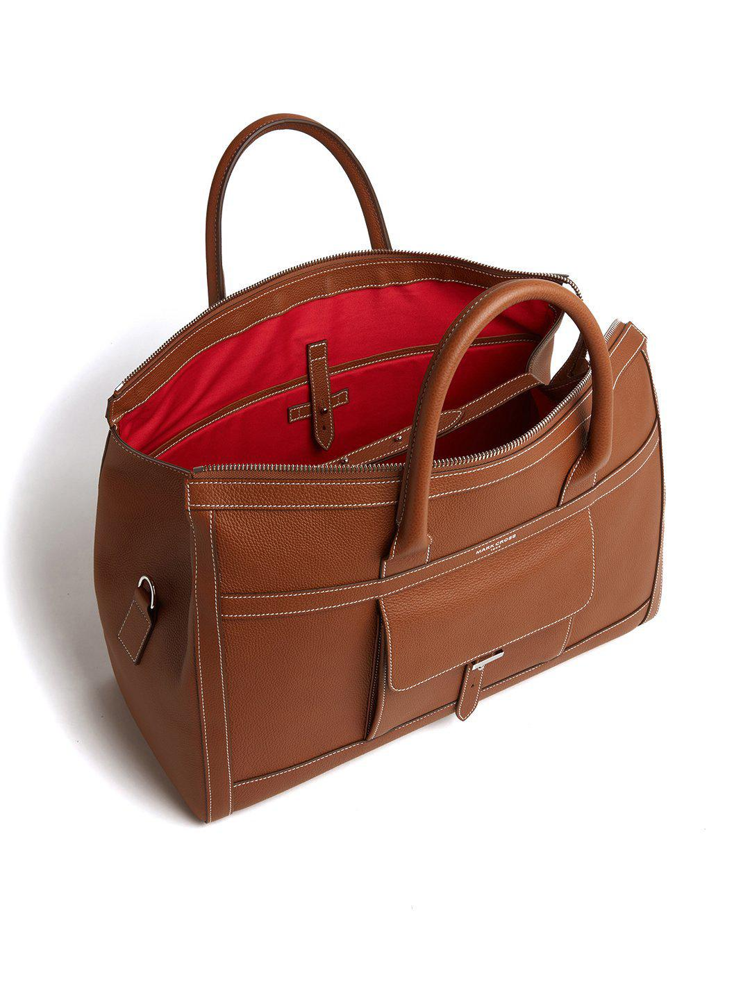 Mick Holdall Leather Duffle Bag 4