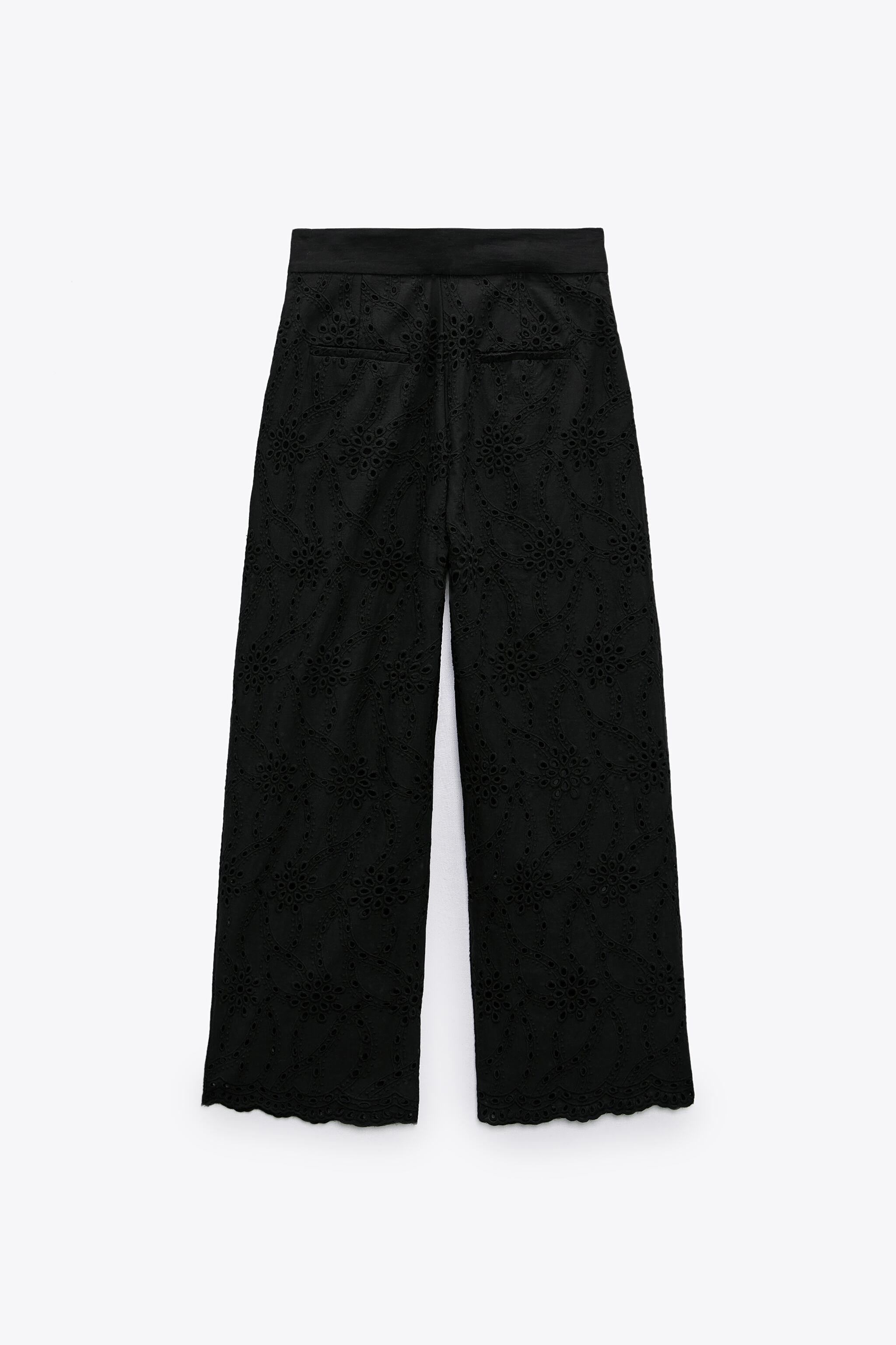 PANTS WITH OPENWORK EMBROIDERY 6