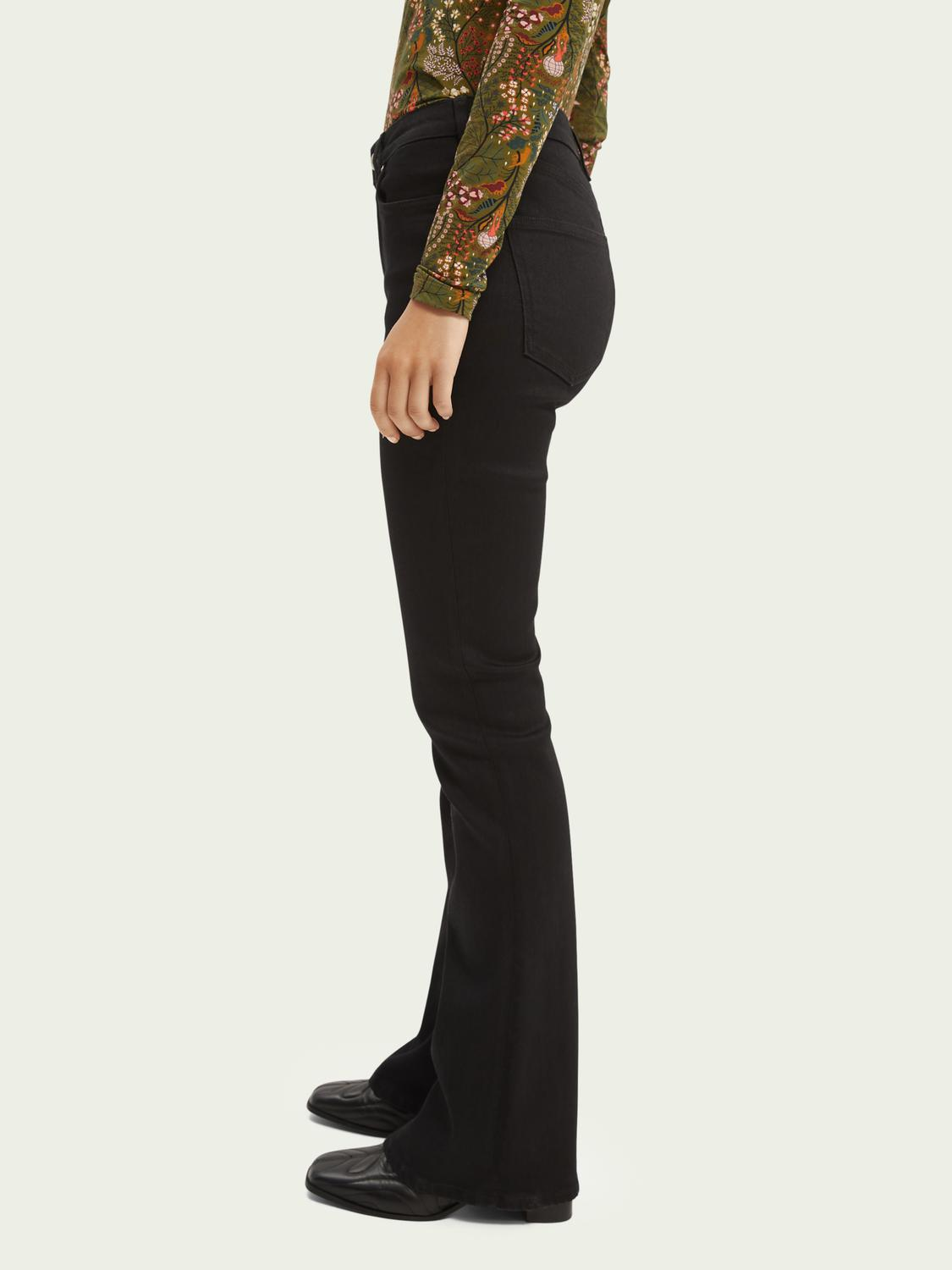 The Charm high-rise flared jeans —Think Different 3