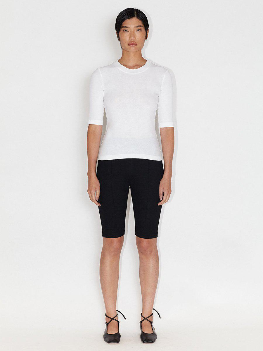 Pull On Pintuck Shorts