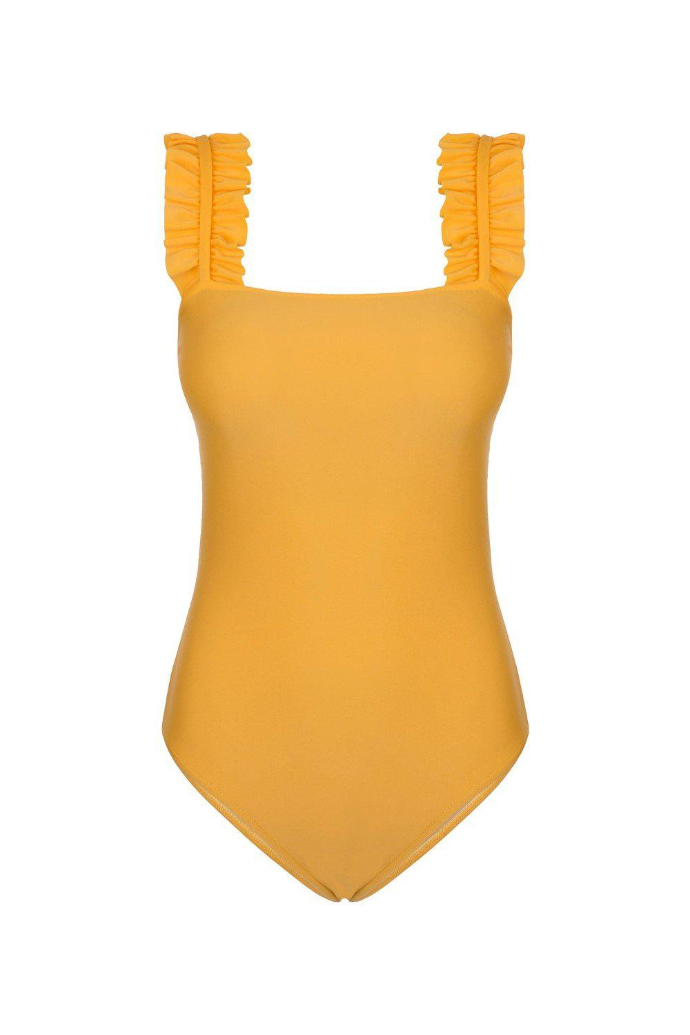 Muse Swimsuit with Ruffles