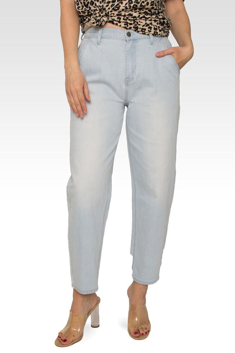 Harlow High Rise Easy Fit Cropped Jeans