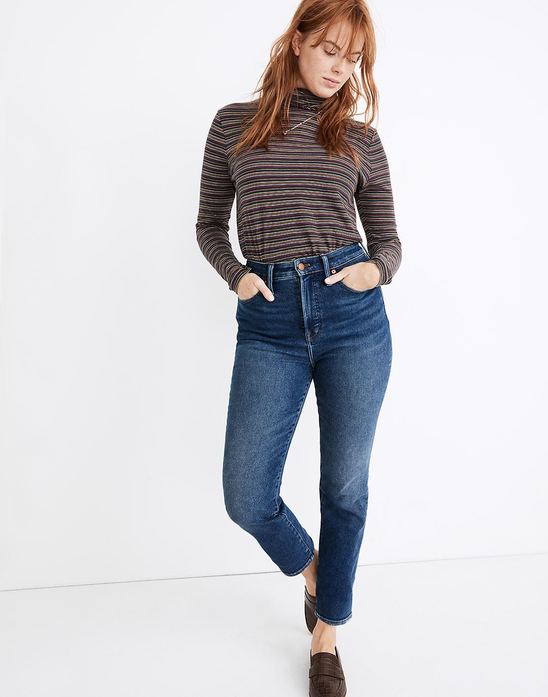 The Curvy Perfect Vintage Jean in Maplewood Wash