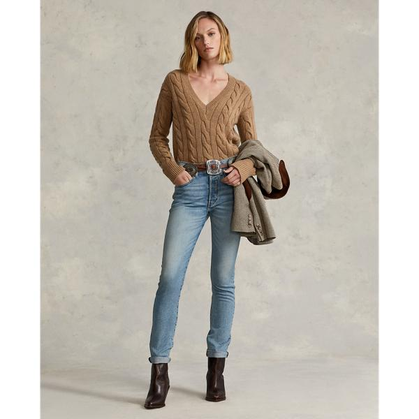 Cable-Knit Wool-Cashmere Sweater
