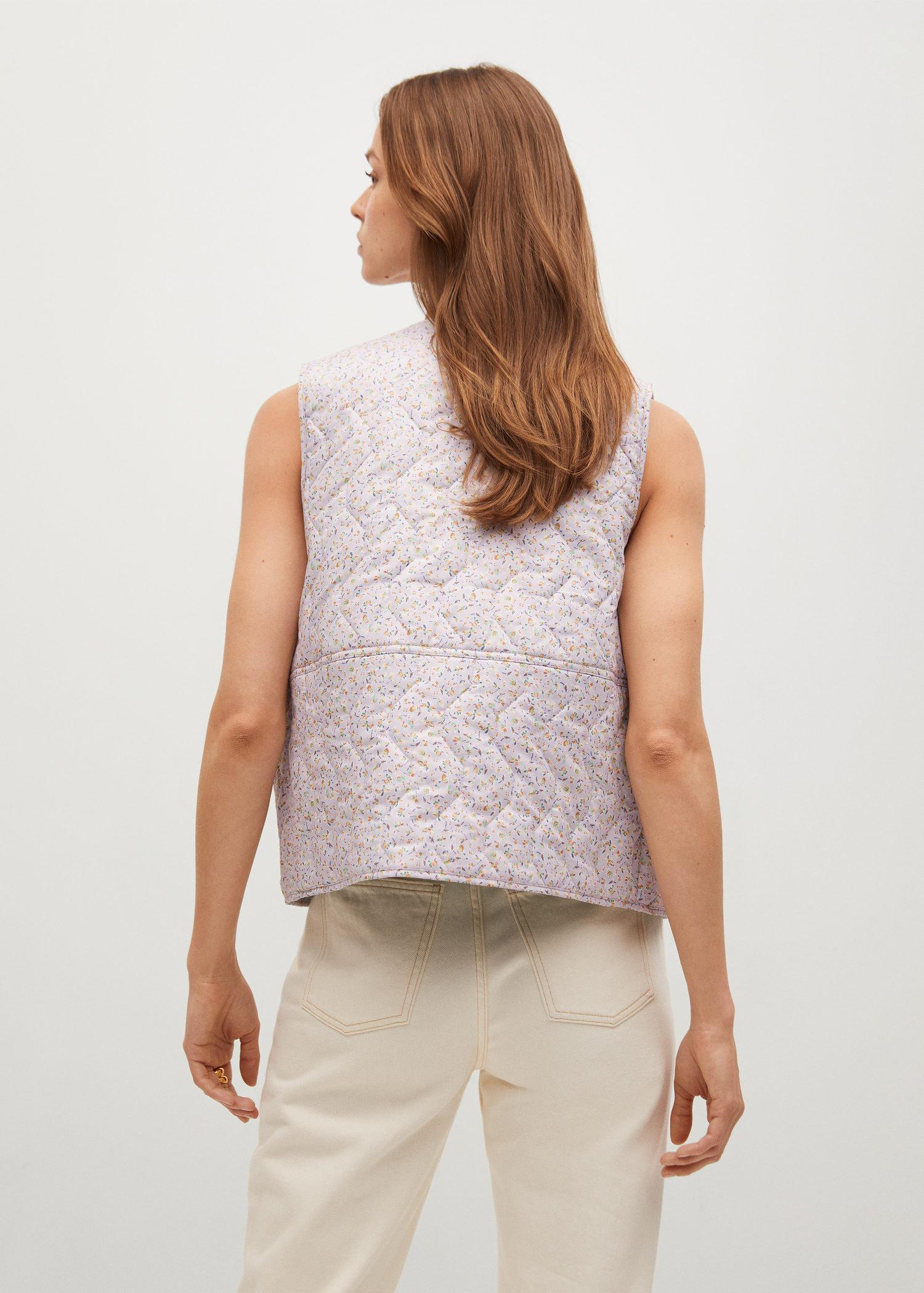Cotton quilted gilet 2