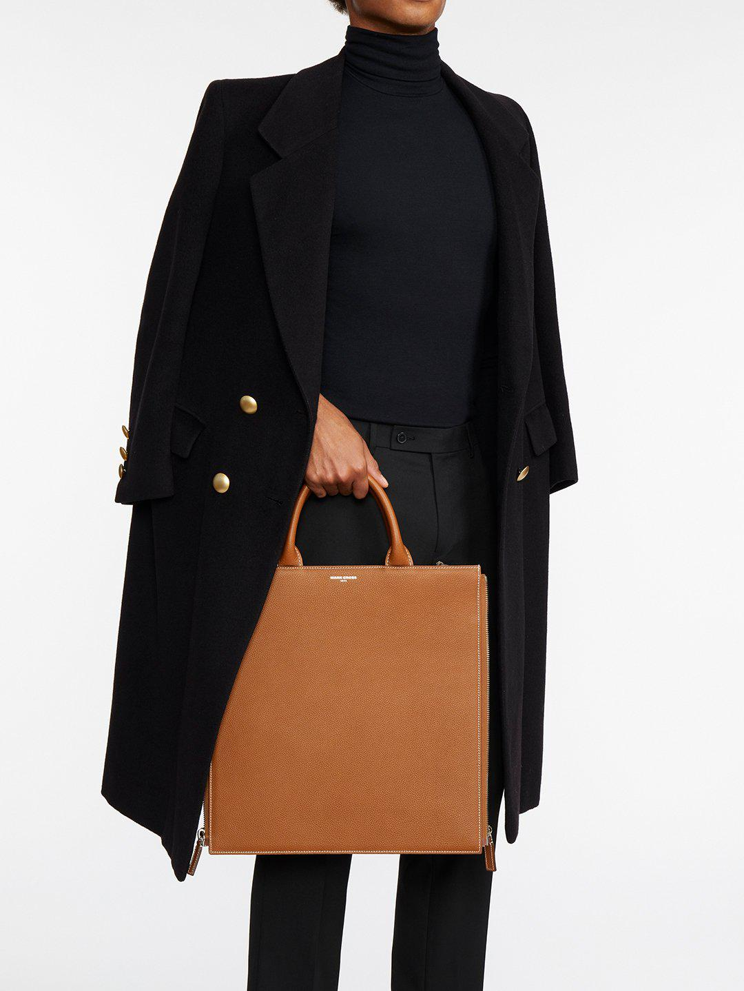 Sidney Leather Tote Bag 10