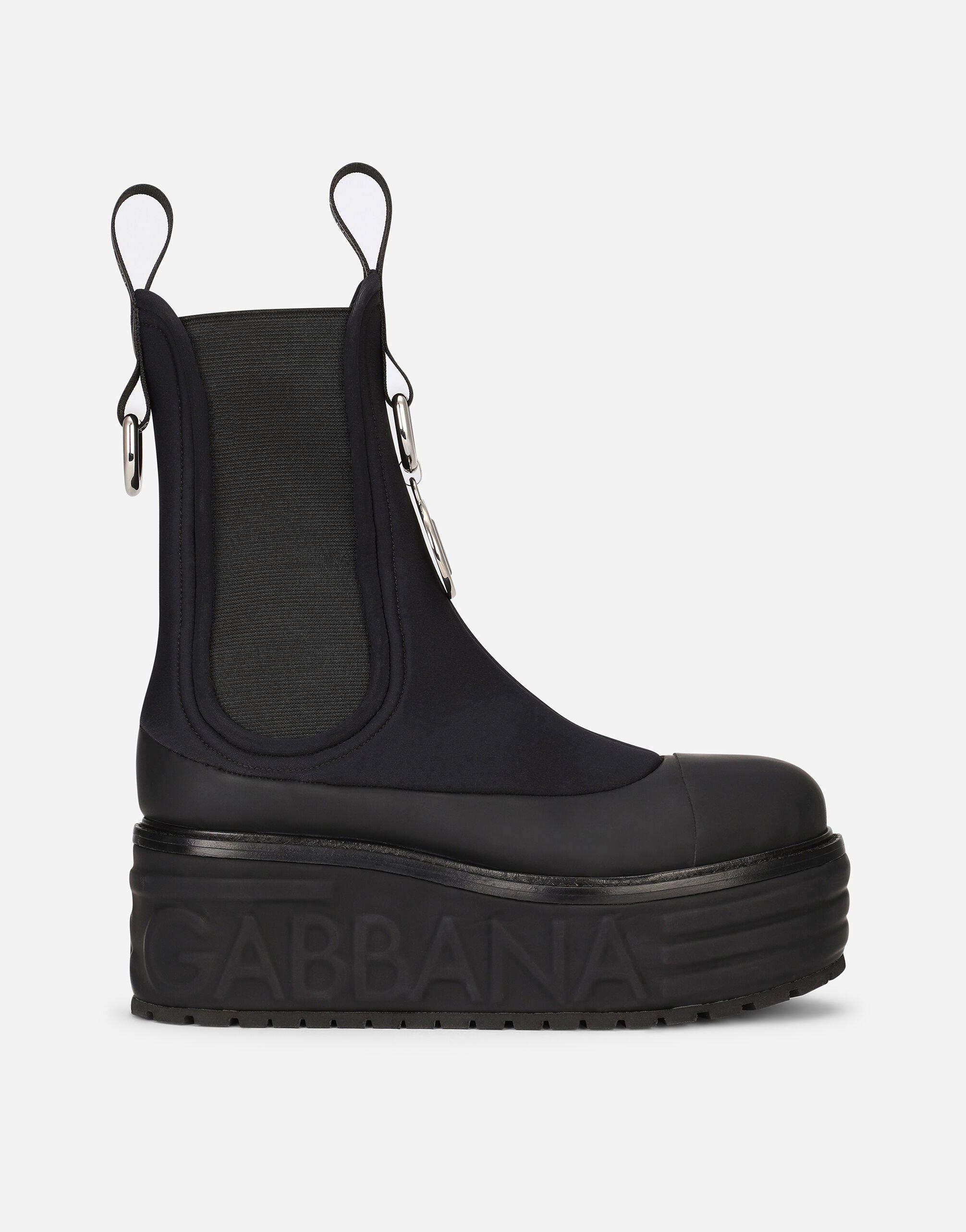 Neoprene ankle boots with DG logo