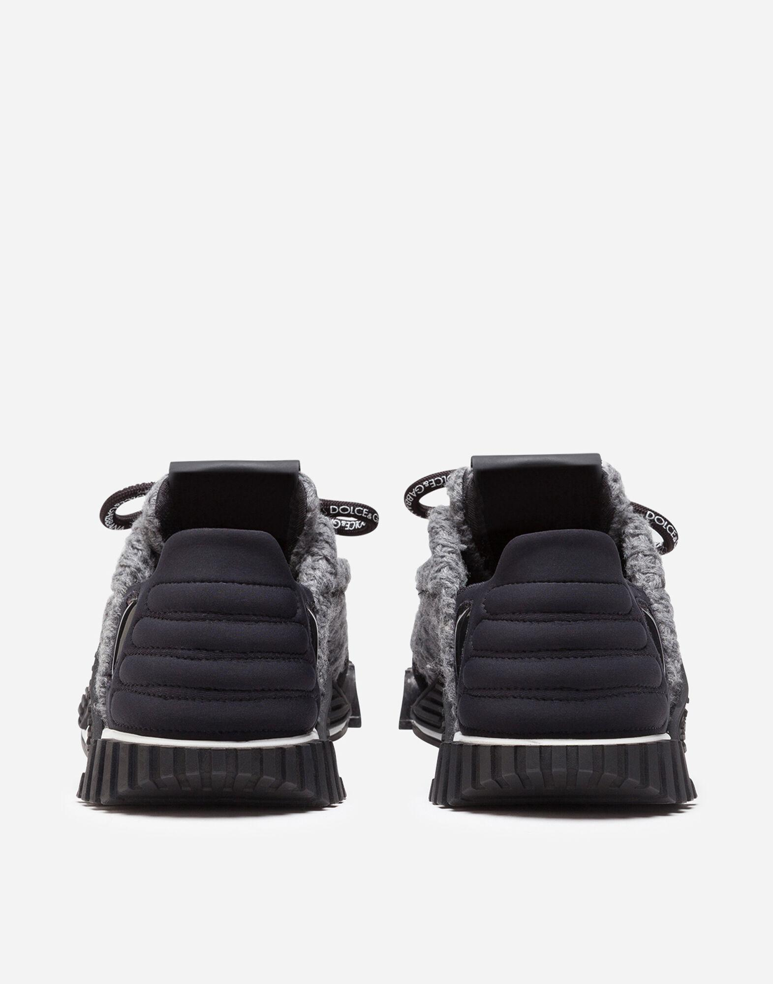Mixed-material NS1 sneakers 2
