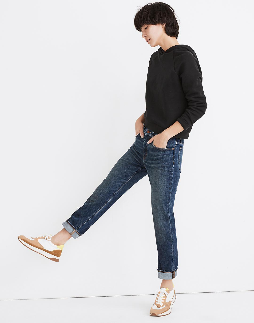 Tomboy Straight Jeans in Chaseley Wash 1