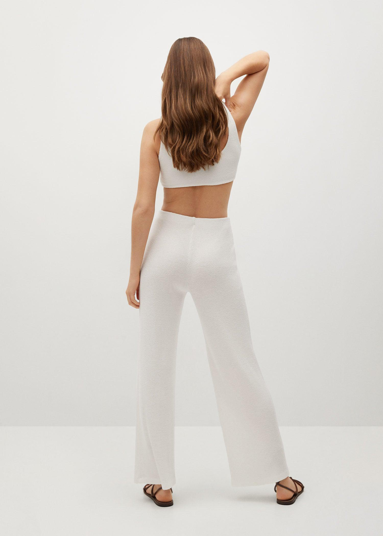 Ribbed soft trousers 2