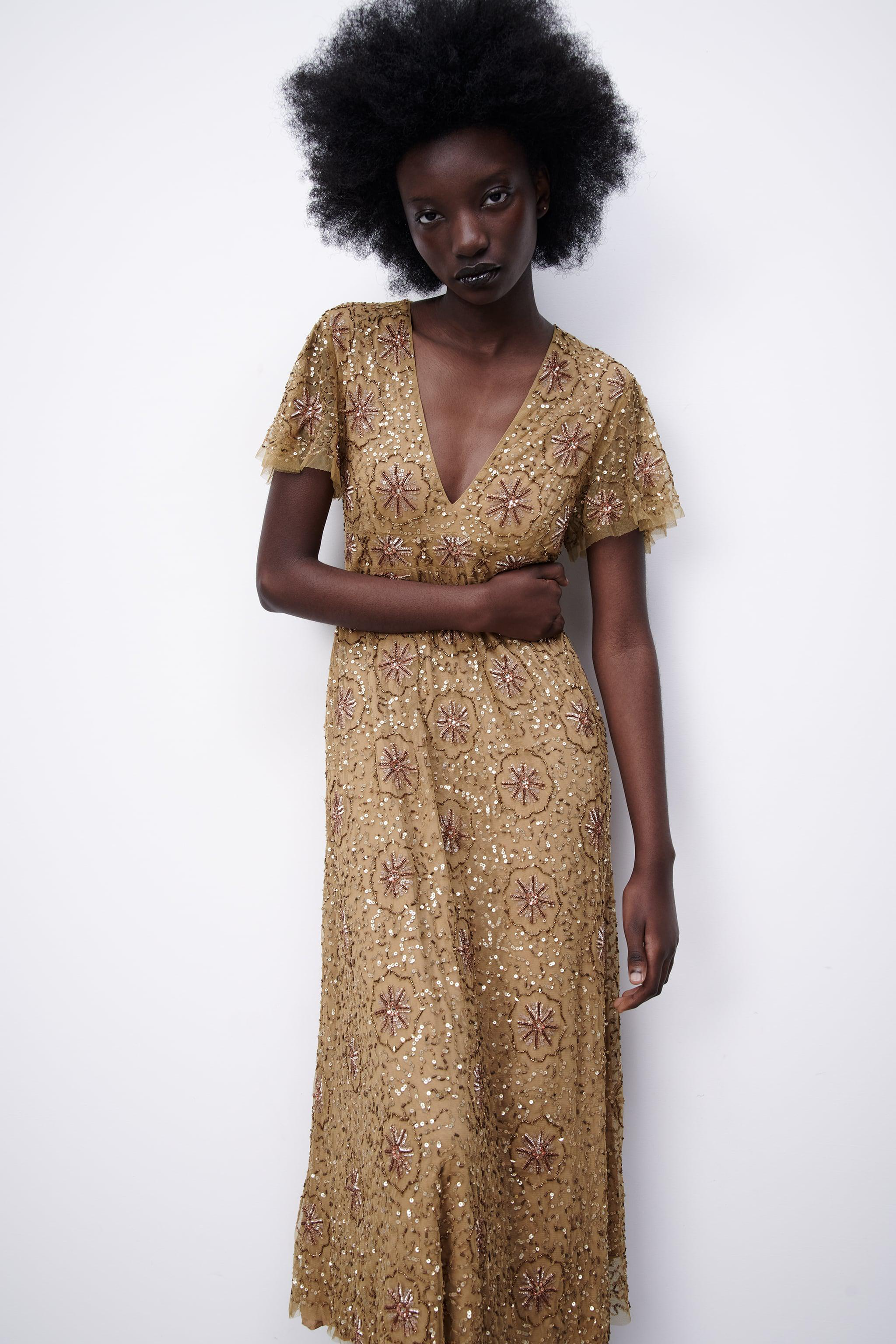 BEADED SPECIAL EDITION KNIT DRESS 2