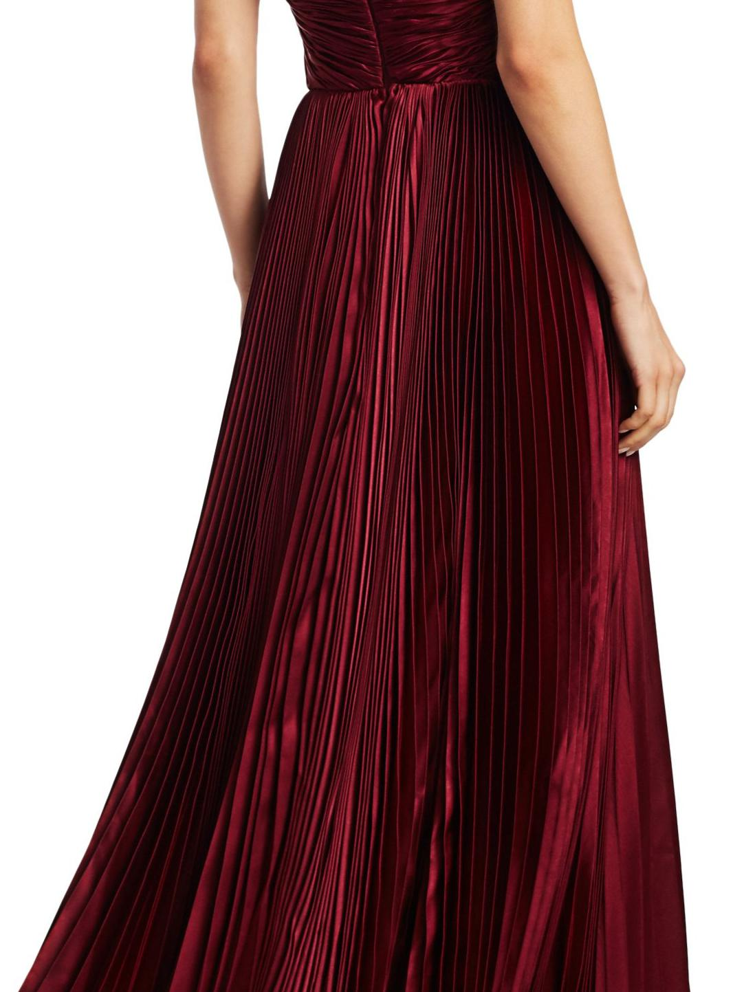 PLEATED TIERED GOWN 3