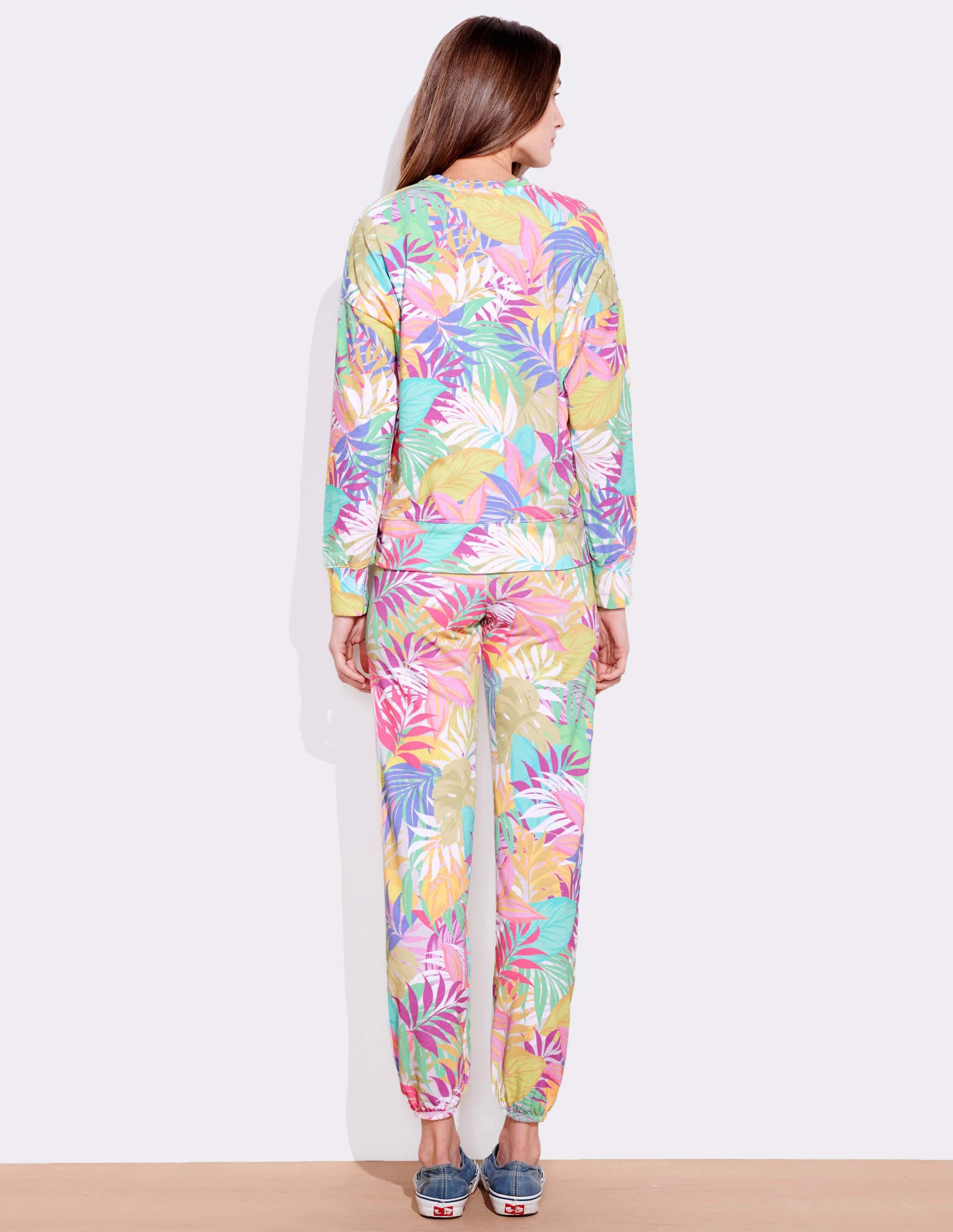 Tropical Oversized Pullover 3