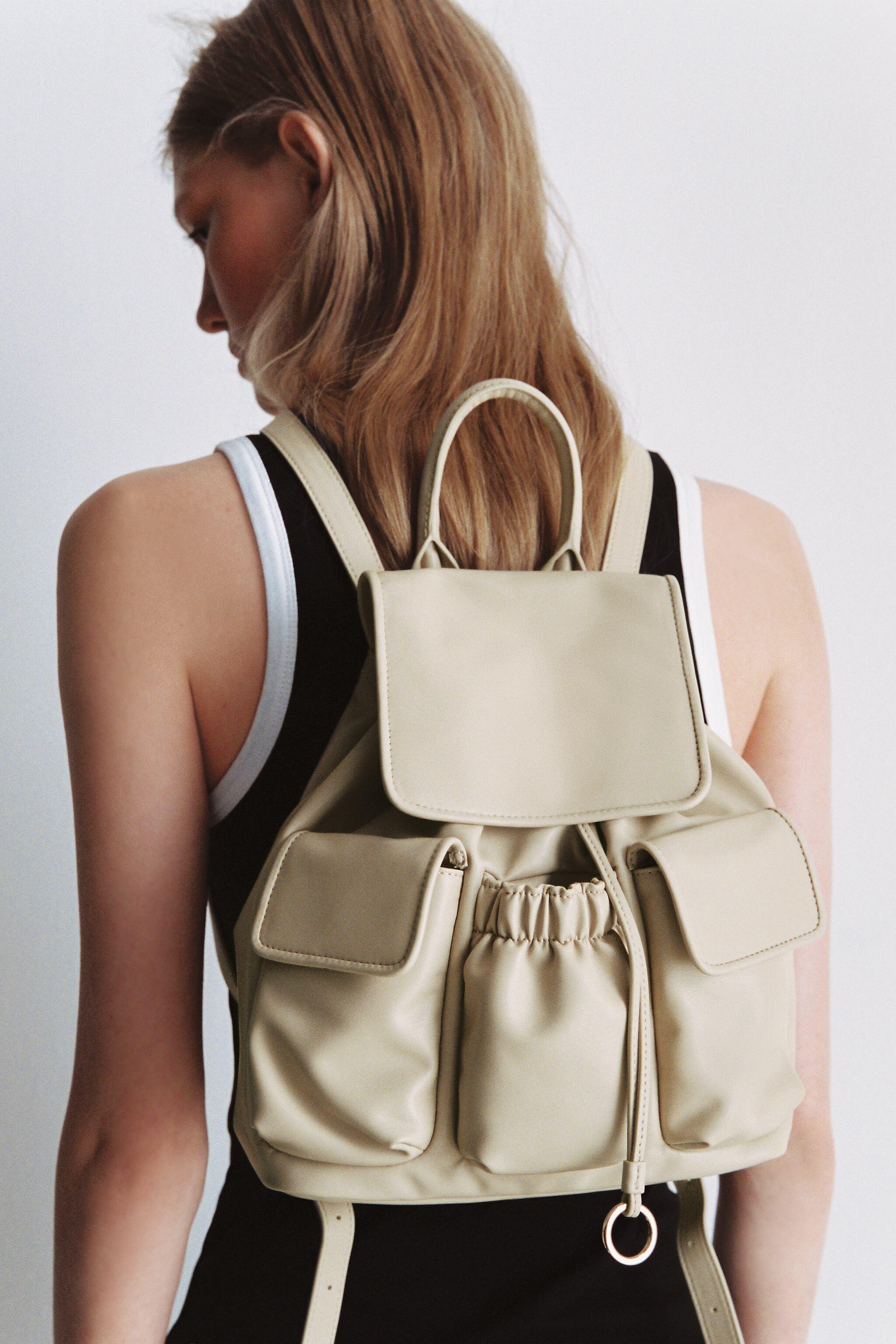 SOFT BACKPACK WITH POCKETS